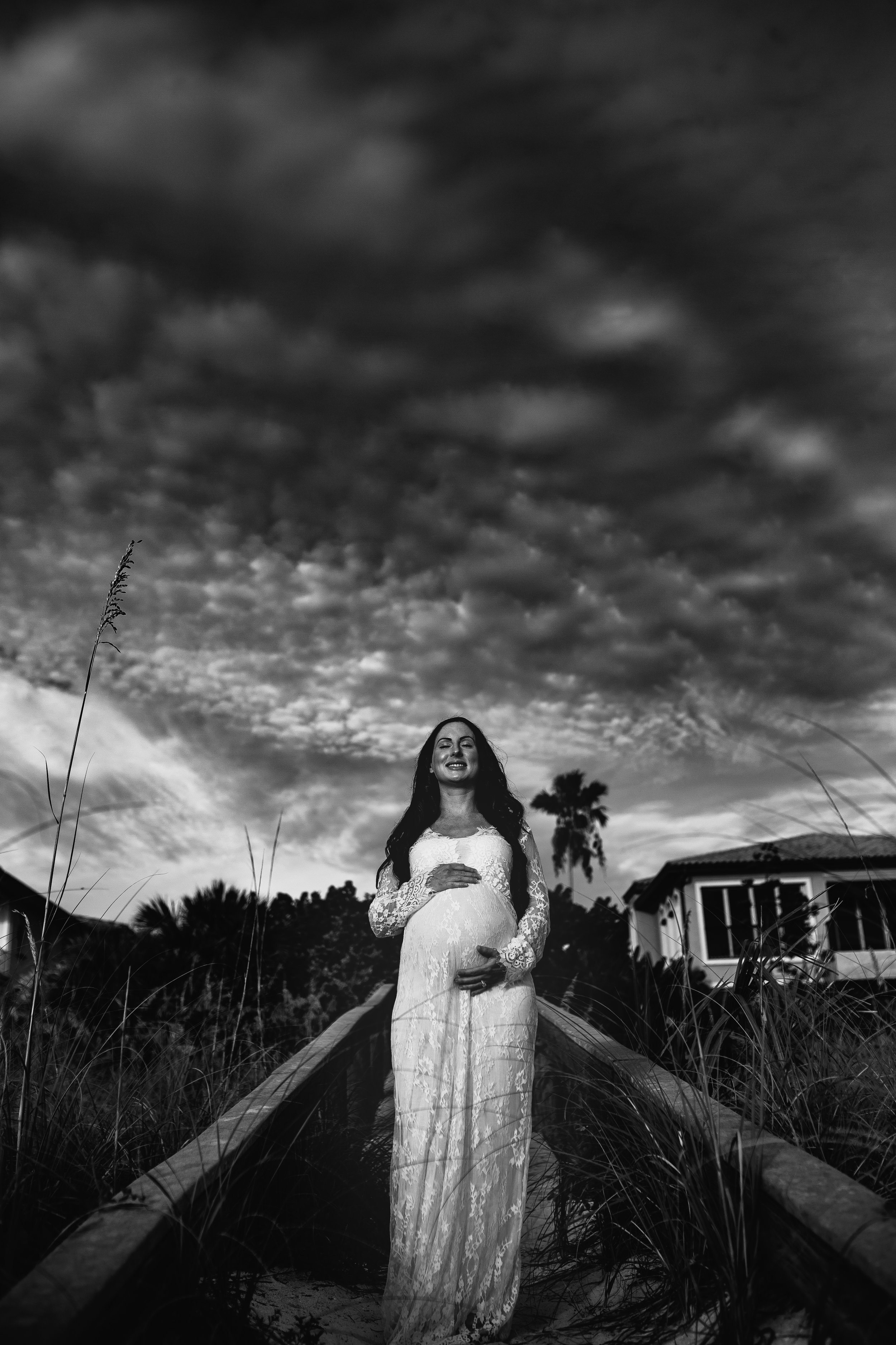 bohemian maternity photographer, tampa bay, st Pete, clearwater beach