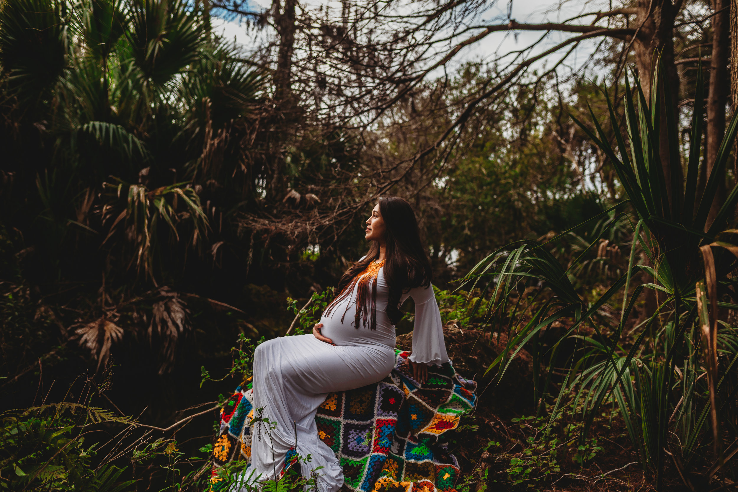 Tampa Bay Maternity Photographer, Lake Seminole Park Maternity Session