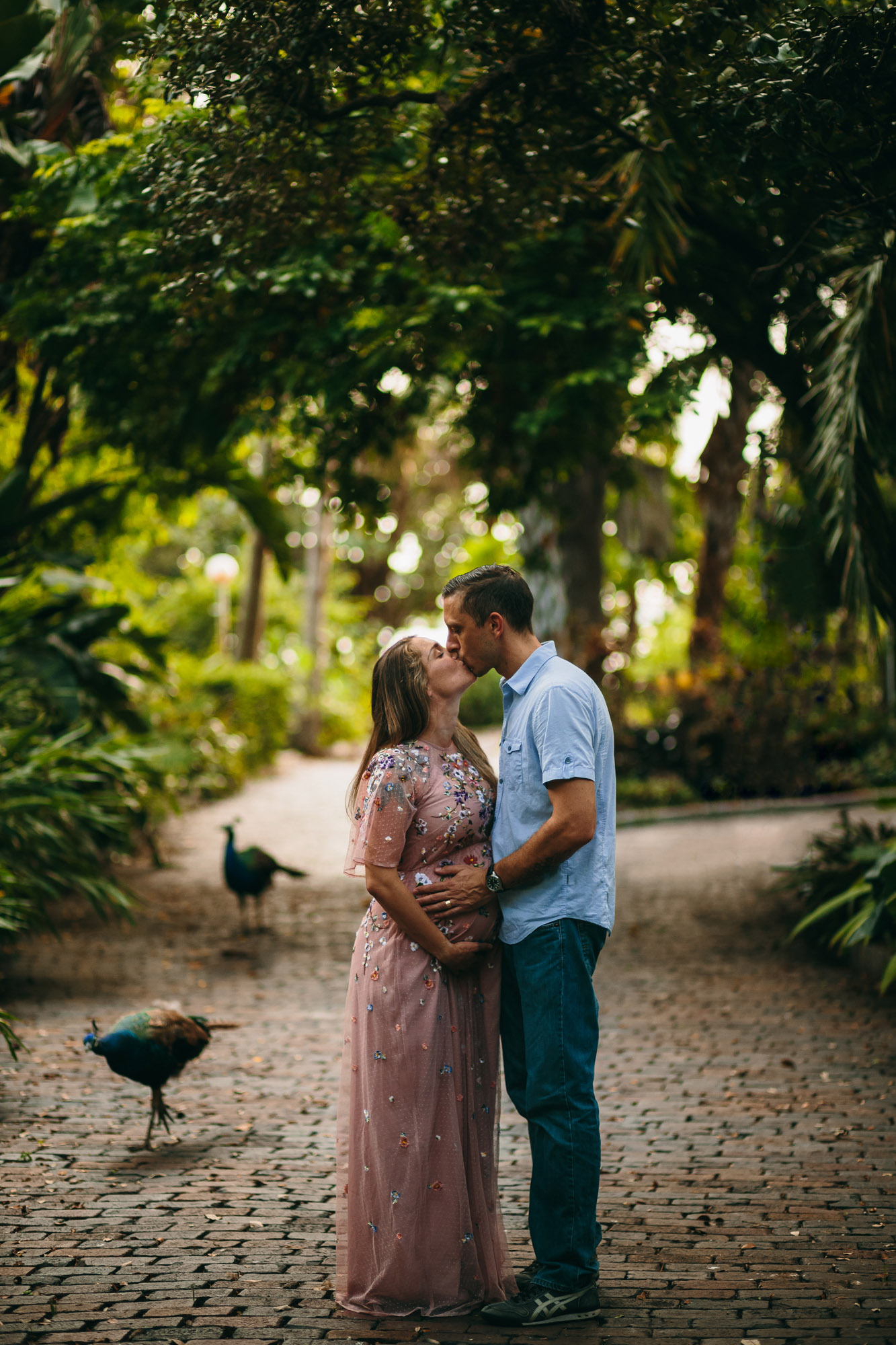 couples maternity photo session, tampa bay fl