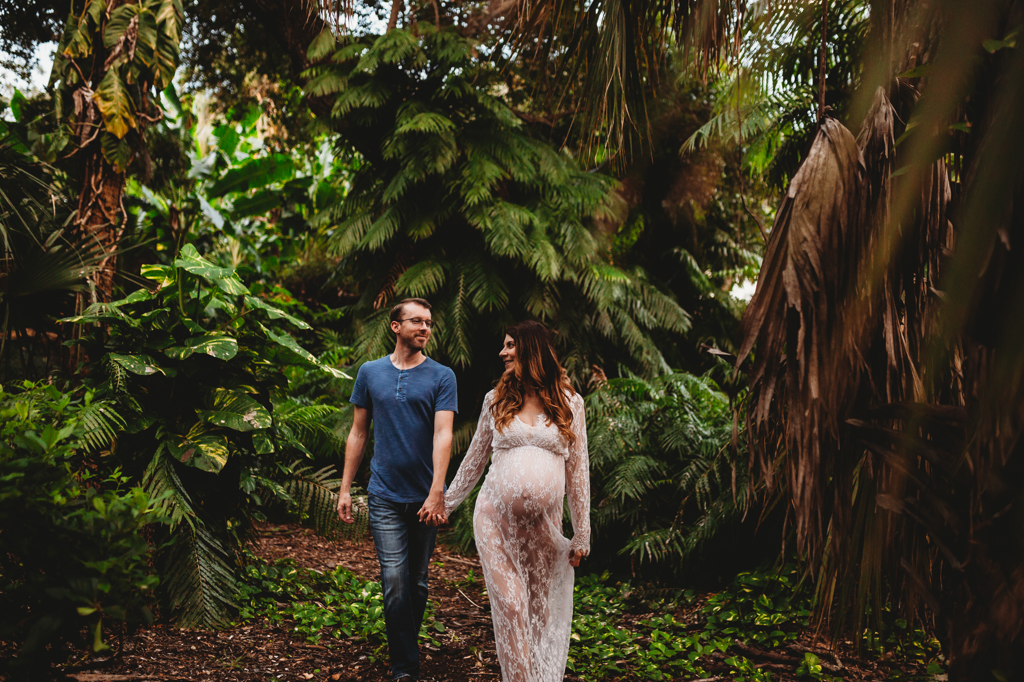 Couples Maternity Portraits, Tampa Bay