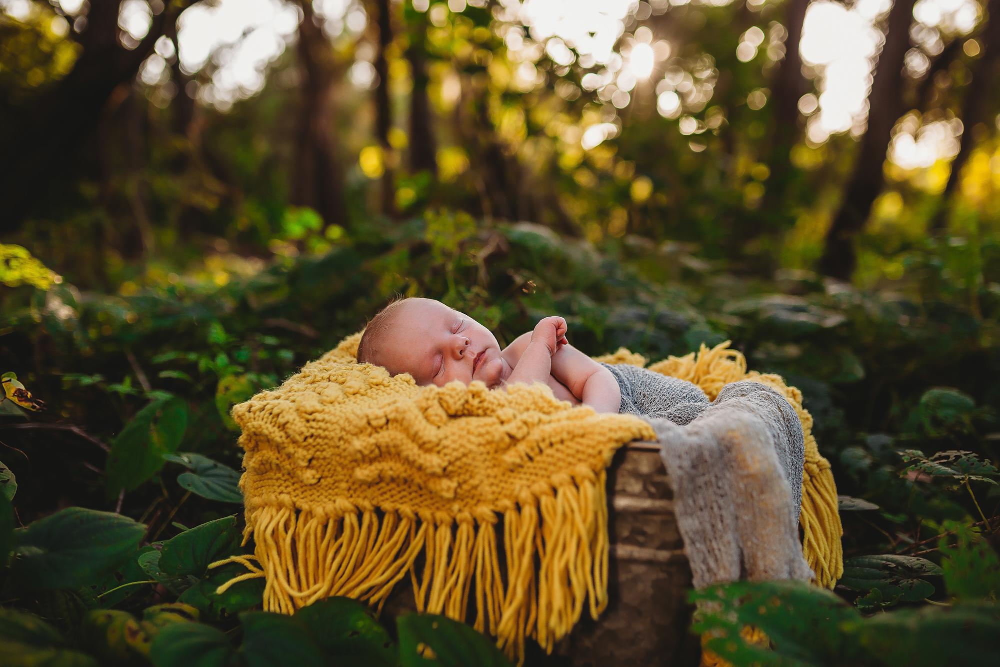 Outdoor Newborn Photographer, Pinellas County FL