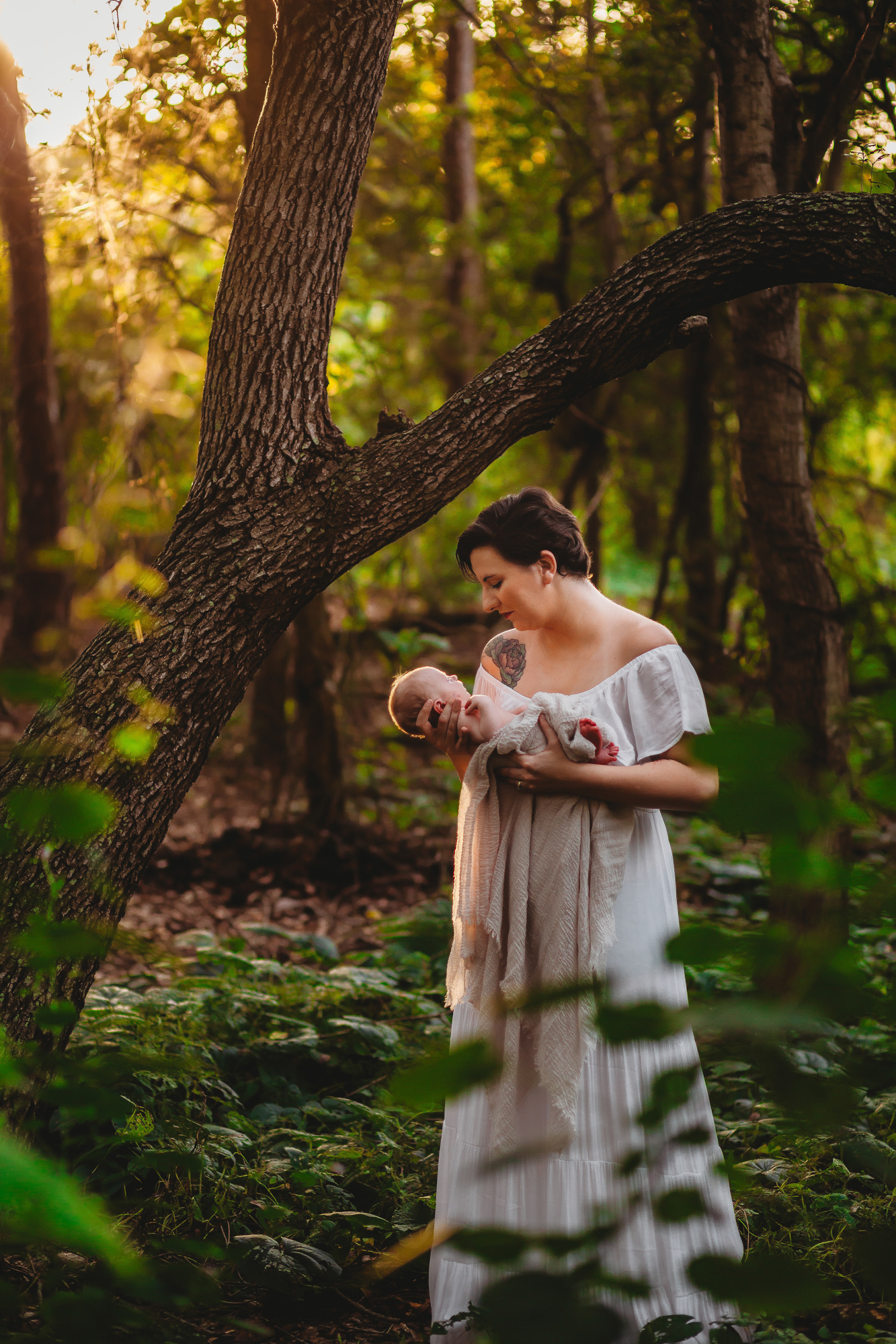 mother and baby portraits, pinellas county fl