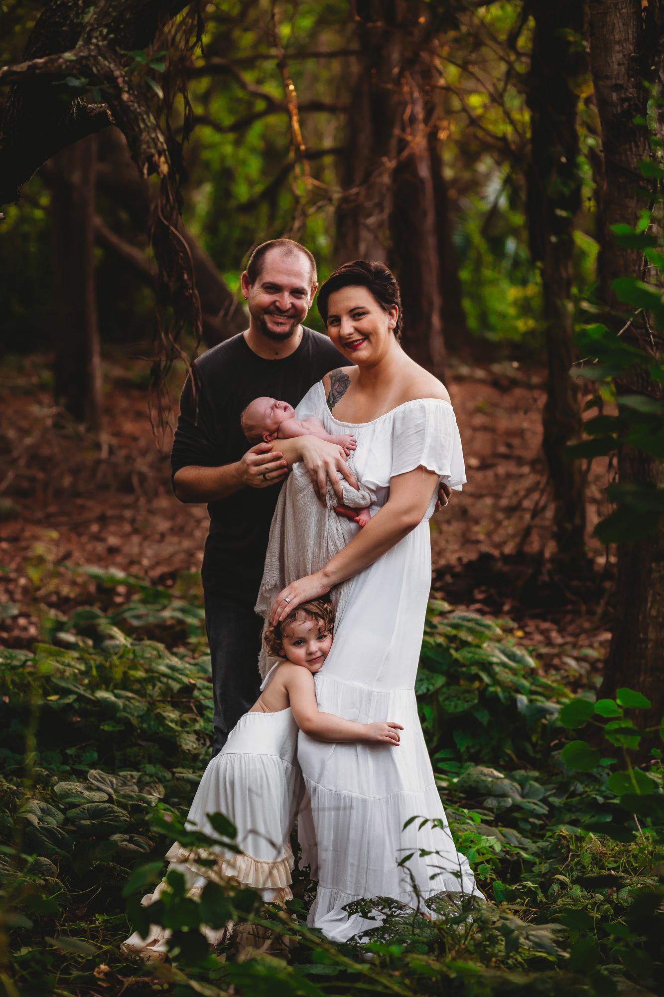 lifestyle newborn photographer st pete fl