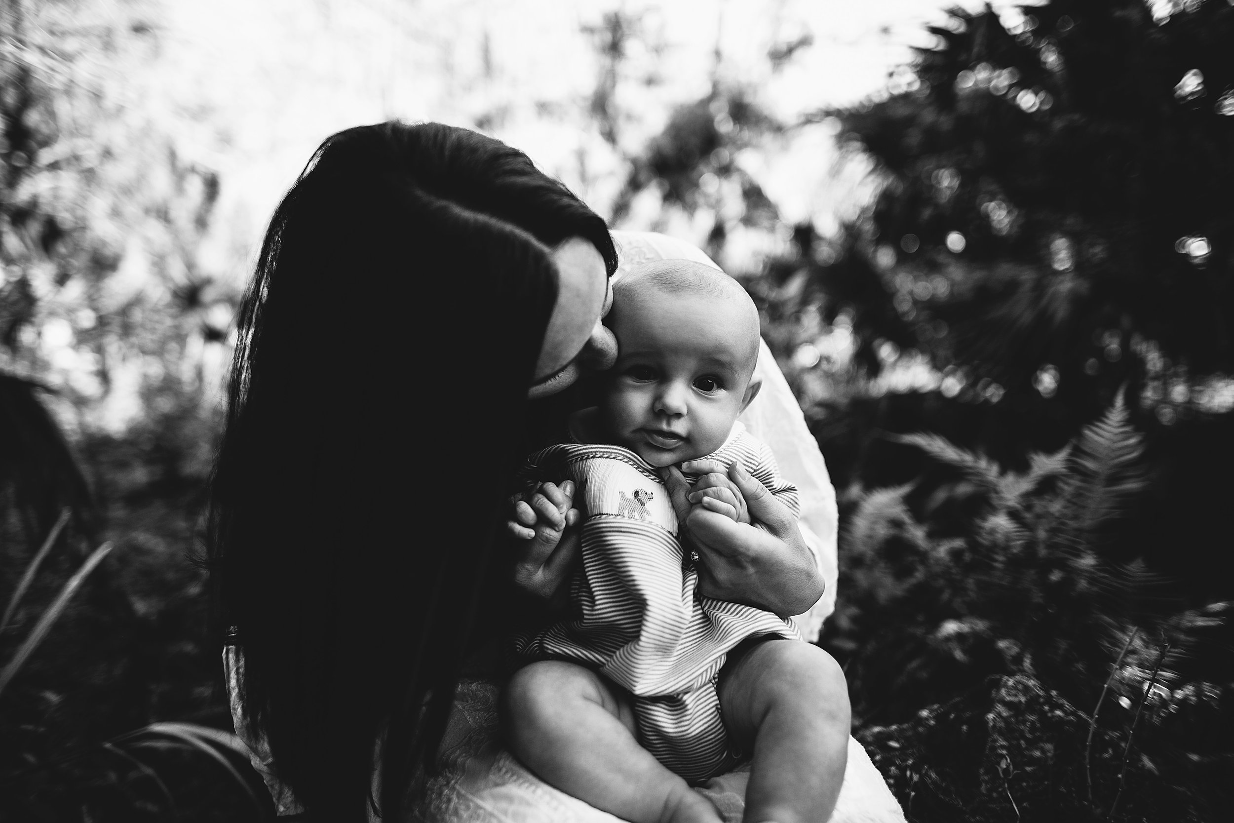 black and white family photo's, st pete fl