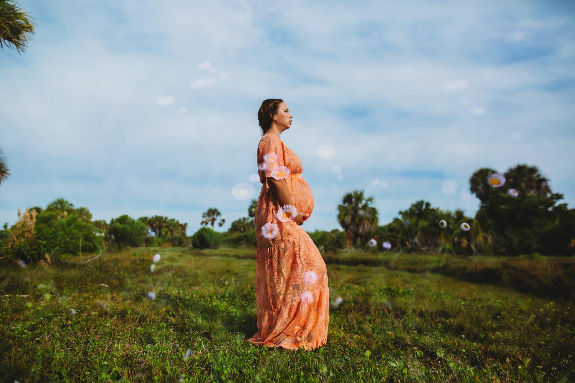 creative maternity photography, pinellas portrait photographer