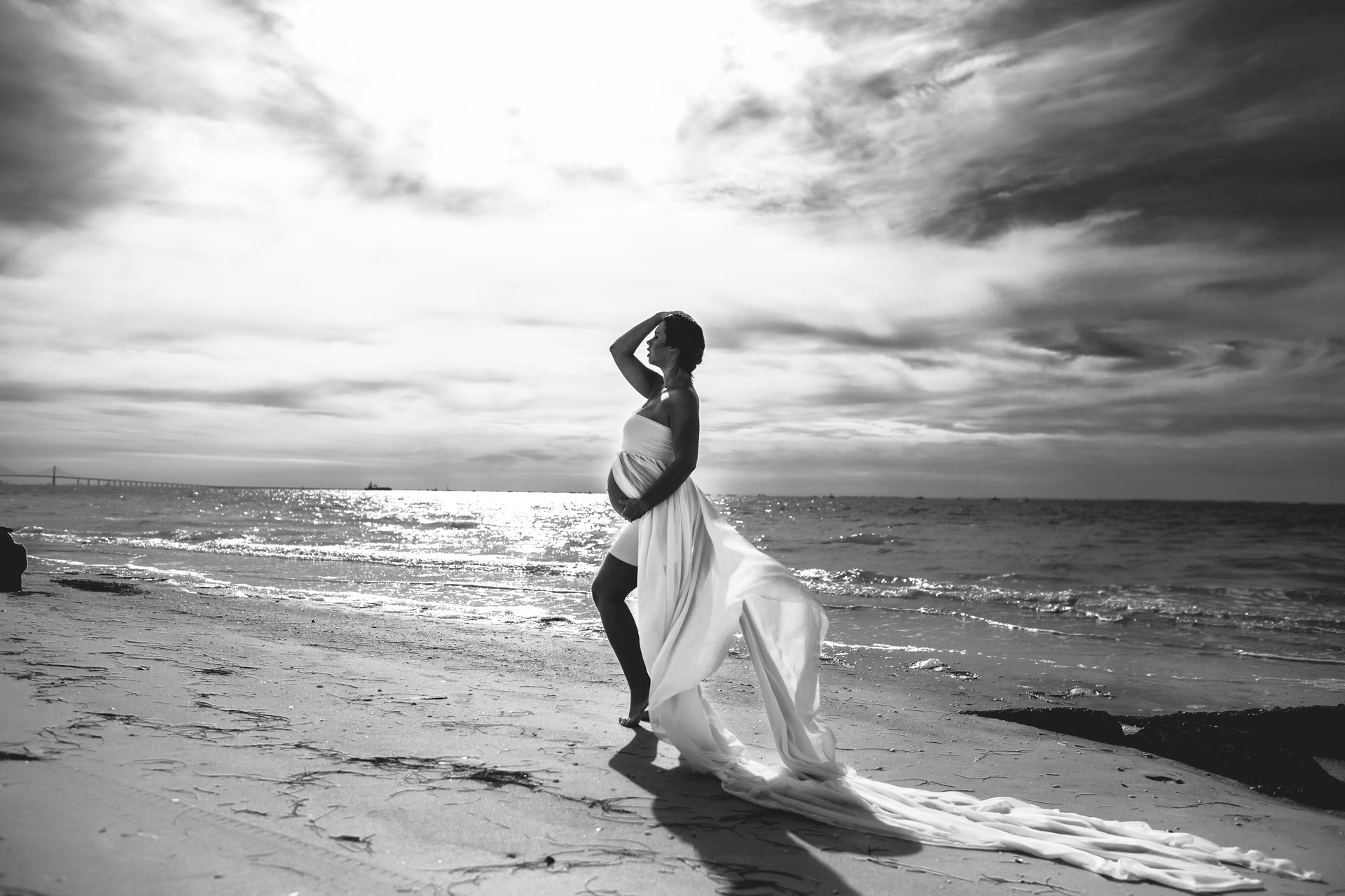 pretty pregnancy photos, clearwater beach maternity photography