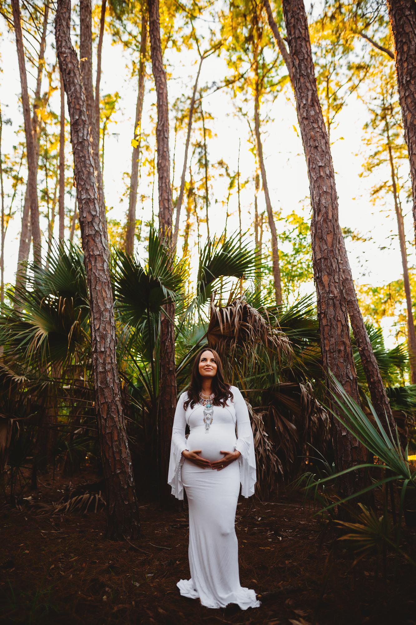 Outdoor Boho Maternity Photo Shoot The Pinellas County Maternity Photographer