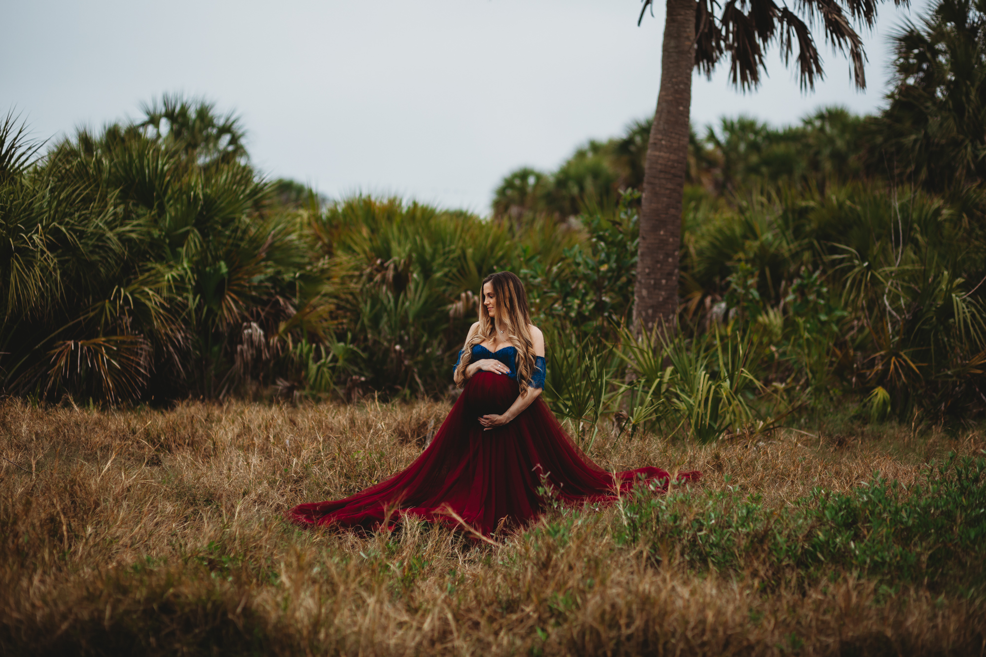 pregnancy photo session at the beach, tampa maternity photographer