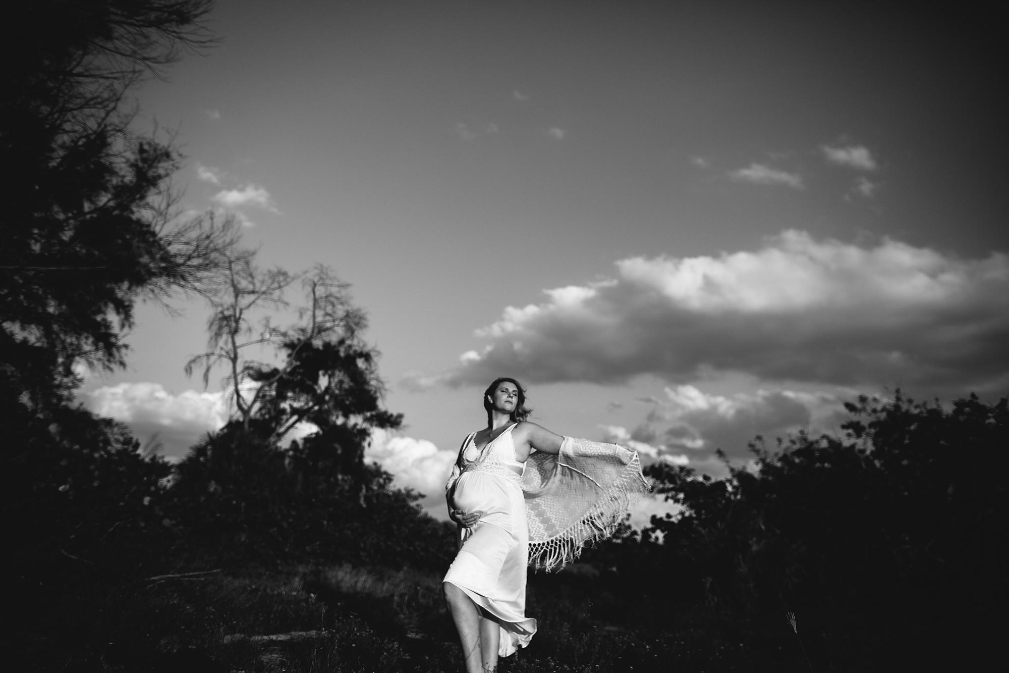 boho fringe maternity photo shoot, pinellas county maternity photographer