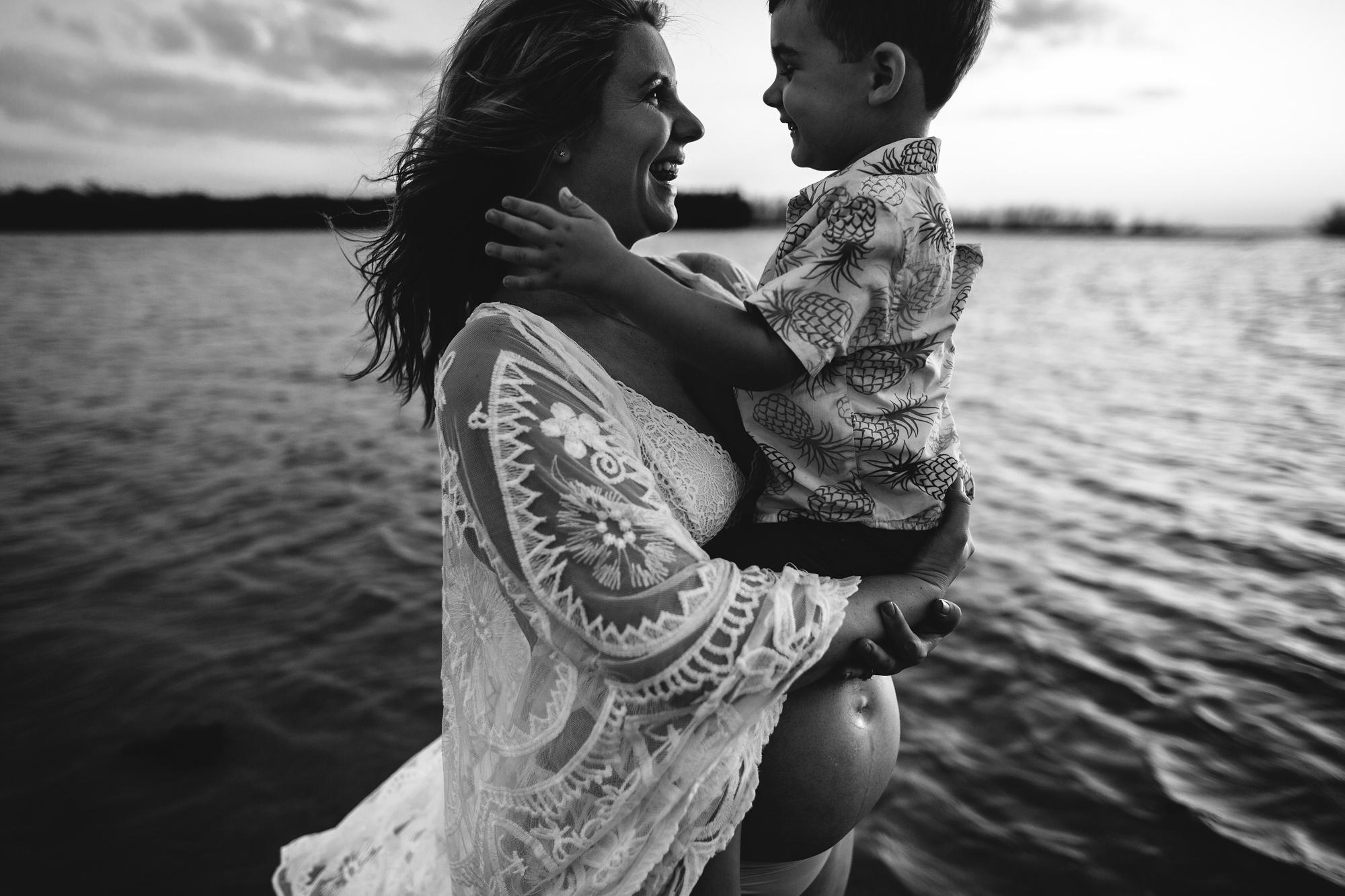 family pregnancy portraits, saint pete baby photographer