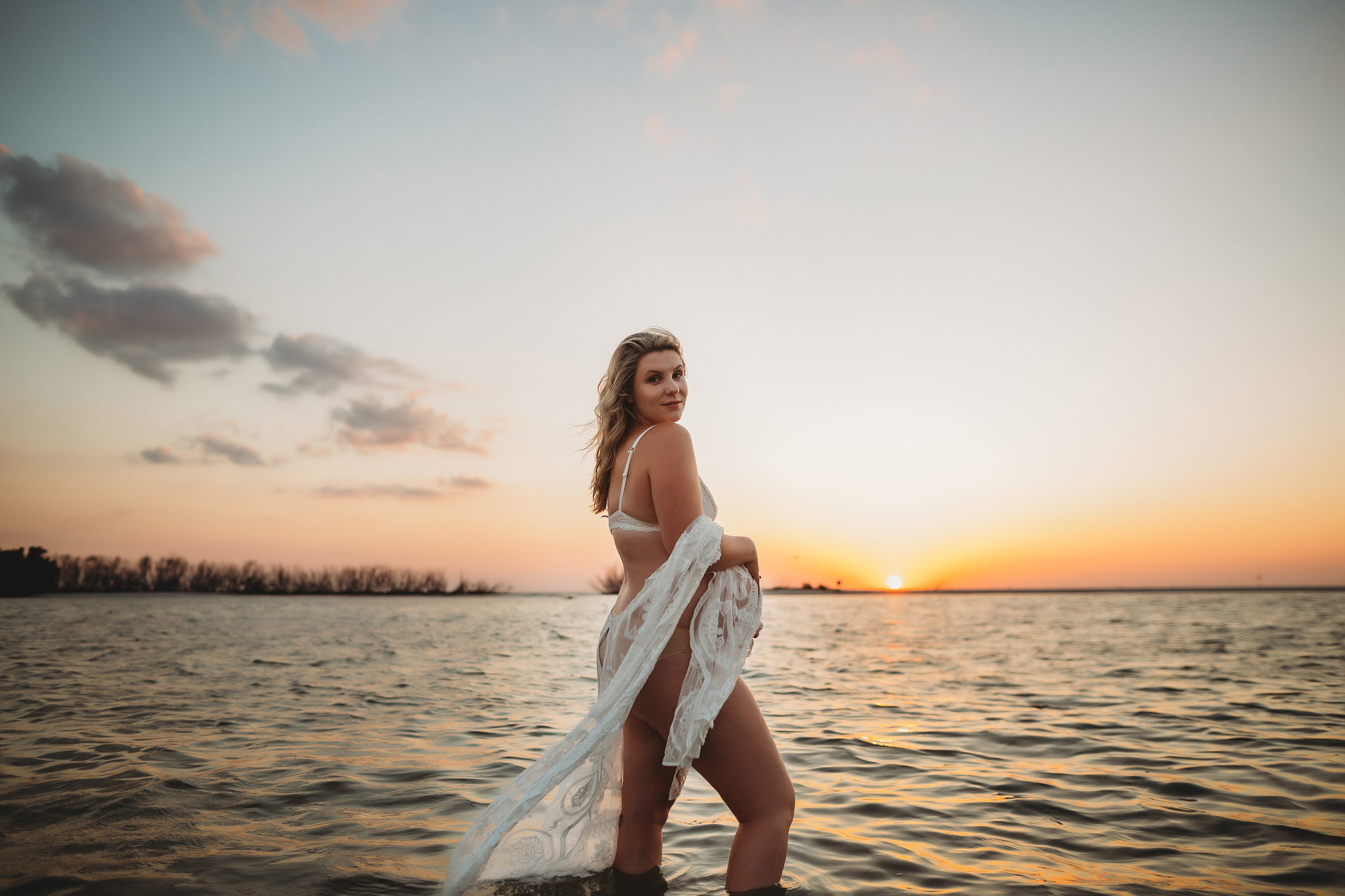 sexy beach water maternity photos, pinellas and pasco county maternity photographer