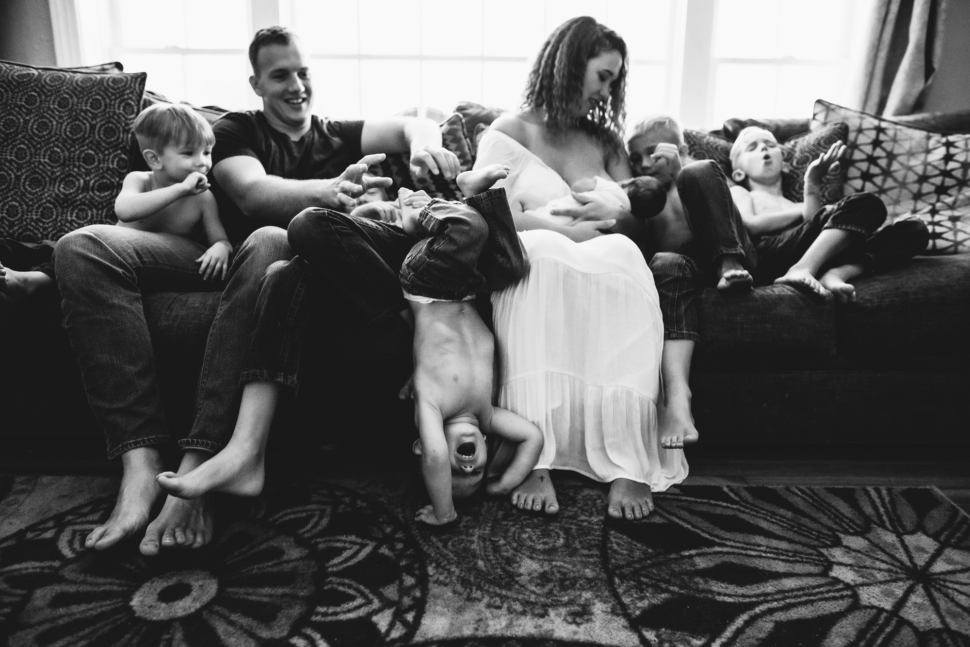 documentary baby photography indoors, st pete photographer