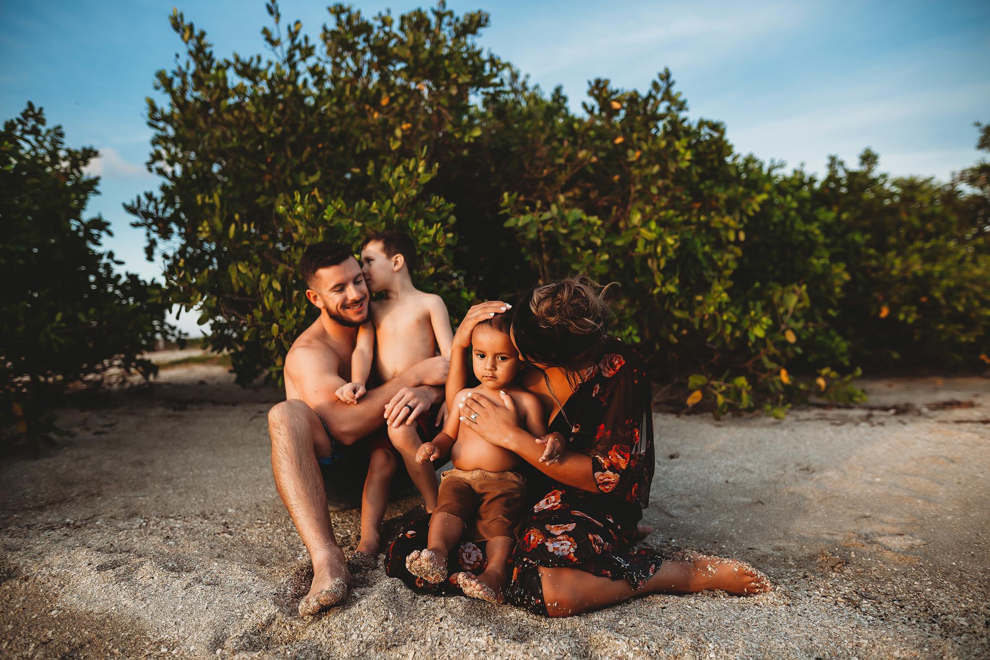 fall beach photo shoot, st pete fl