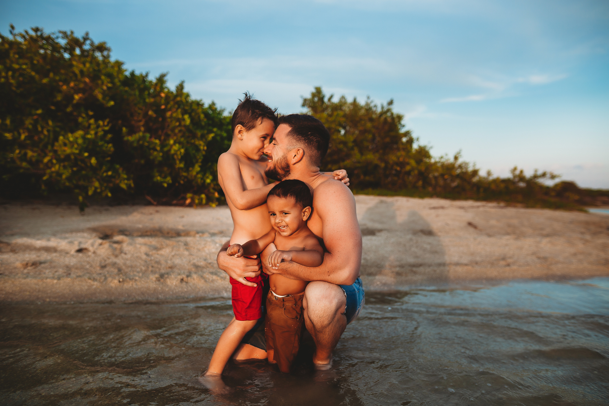 father and son photo shoot, pinellas family photographer