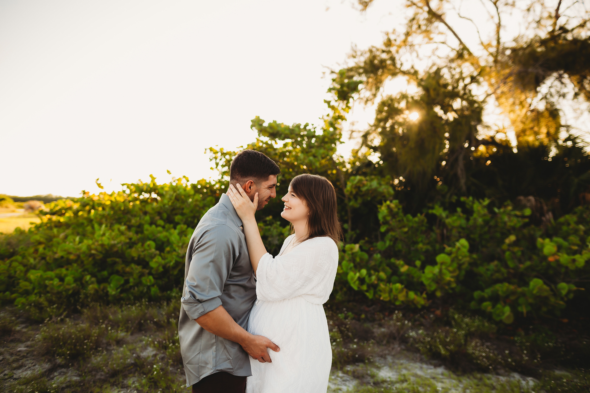 couples maternity photo shoot, pinellas county fl