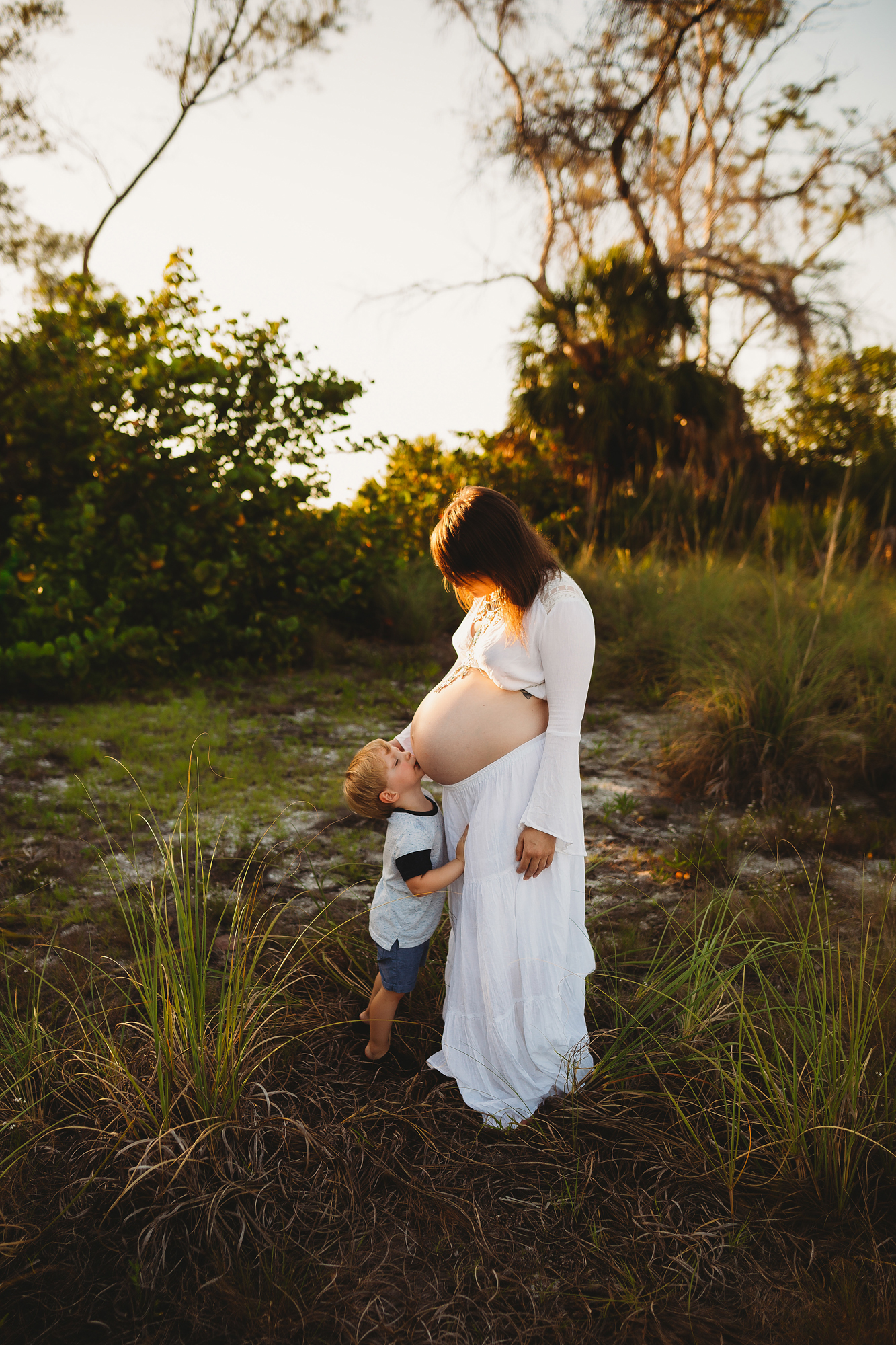 mother and son maternity photo's, pinellas photographer