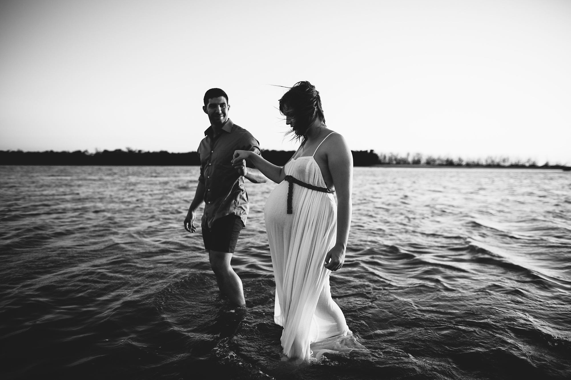 maternity session with husband