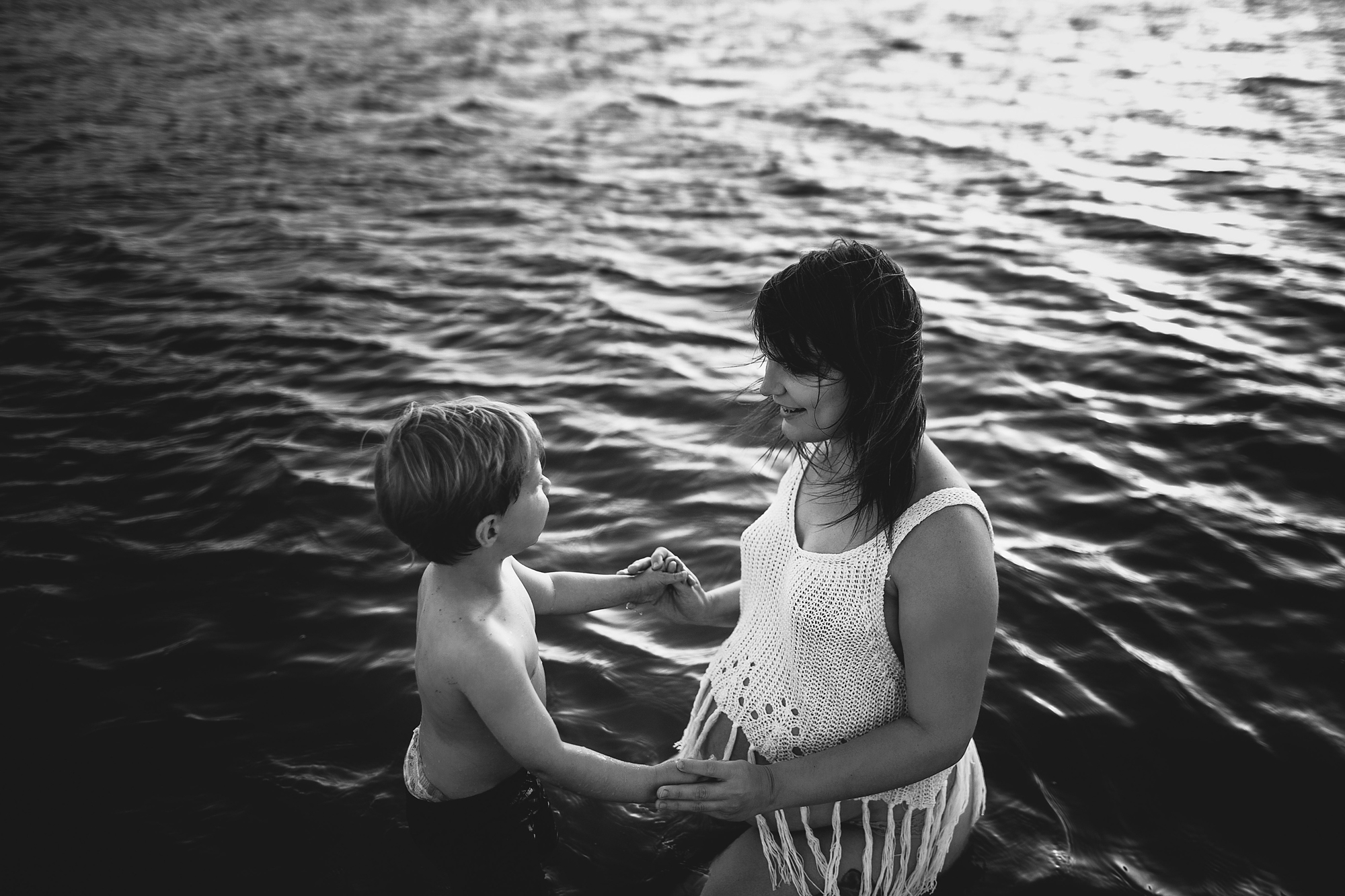 pregnancy session with toddler, tampa family photographer