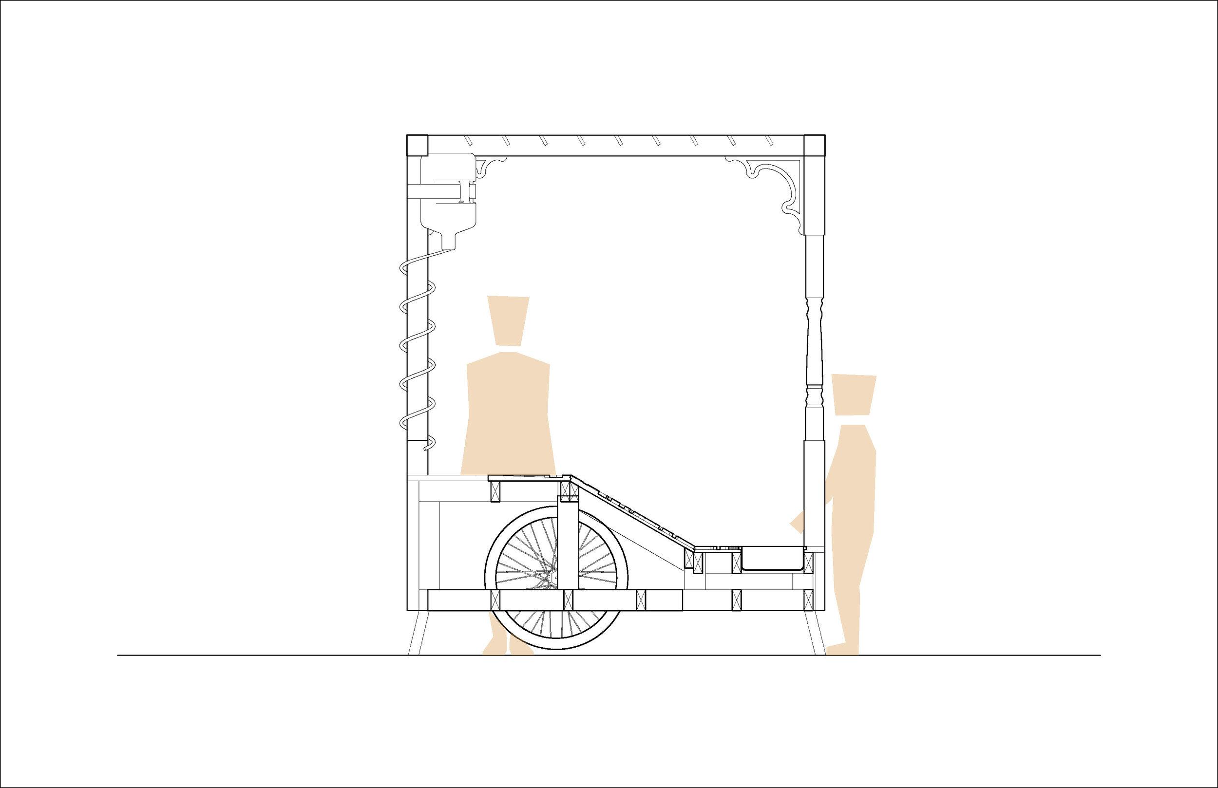 Lab Porch: Elevation