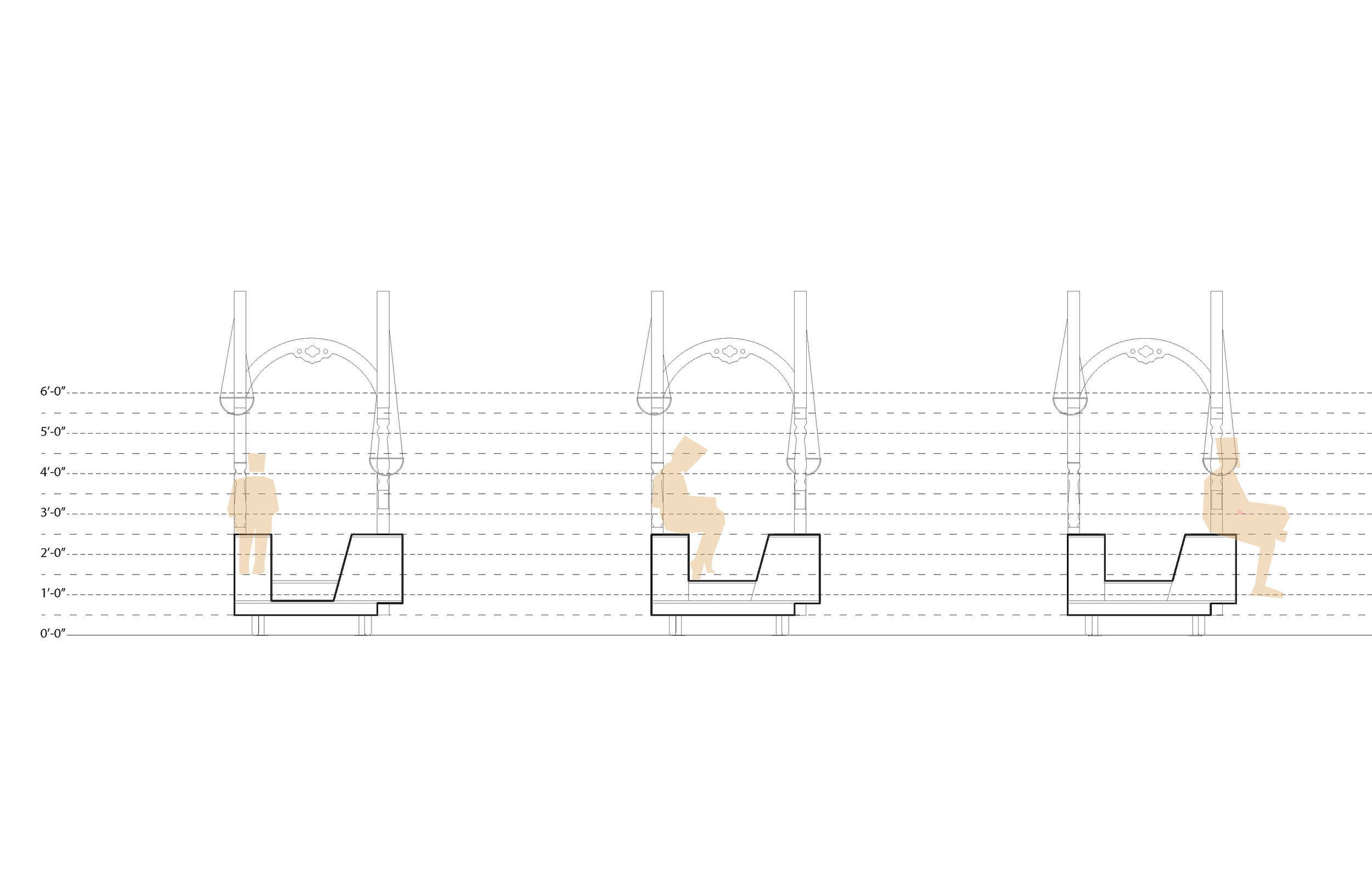 Lounge Porch: Elevation