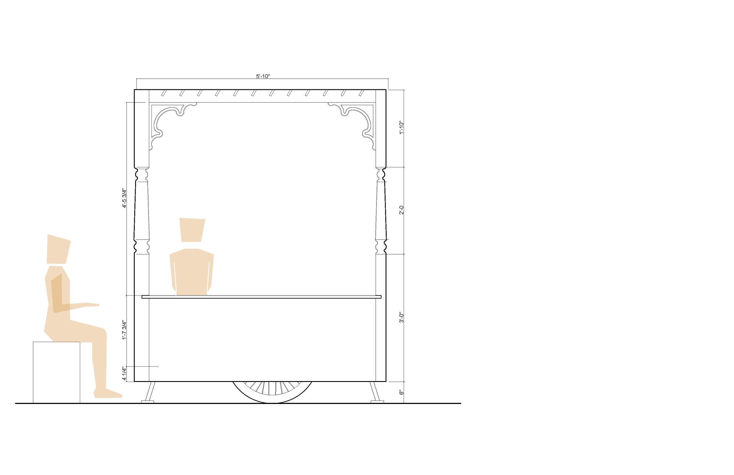 Classroom Porch: Elevation
