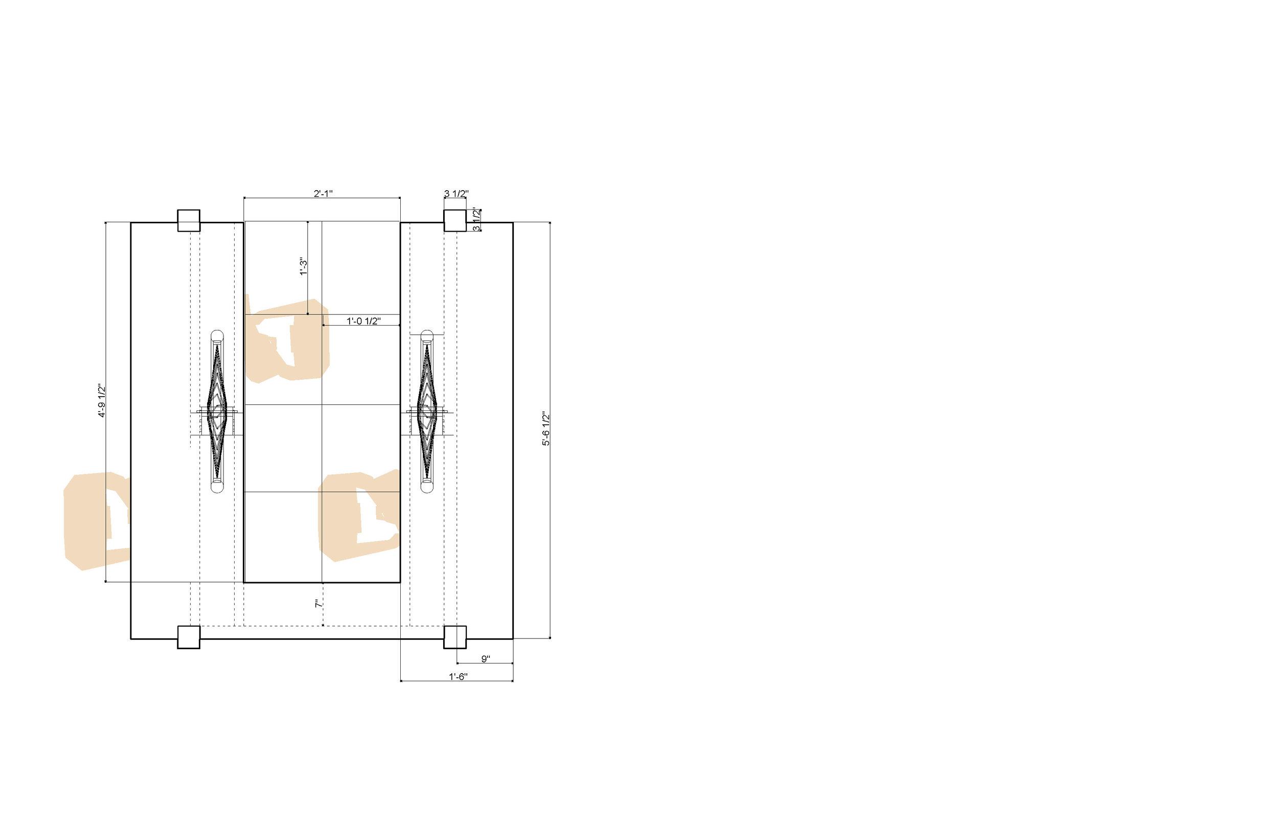 Classroom Porch: Plan