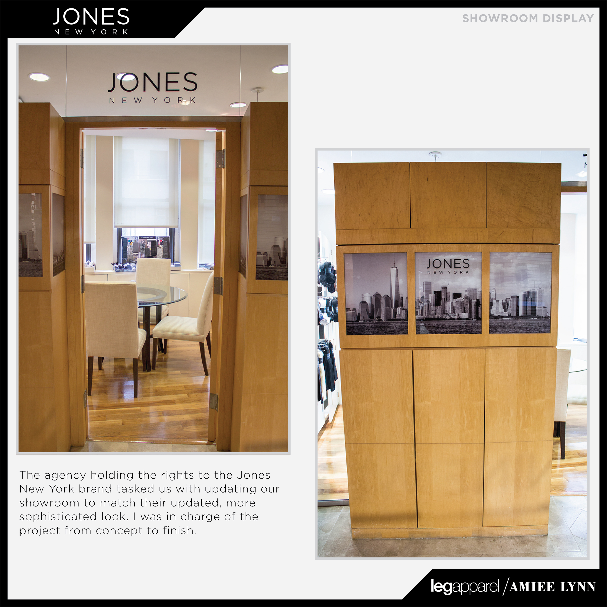 Joneds NY Showroom