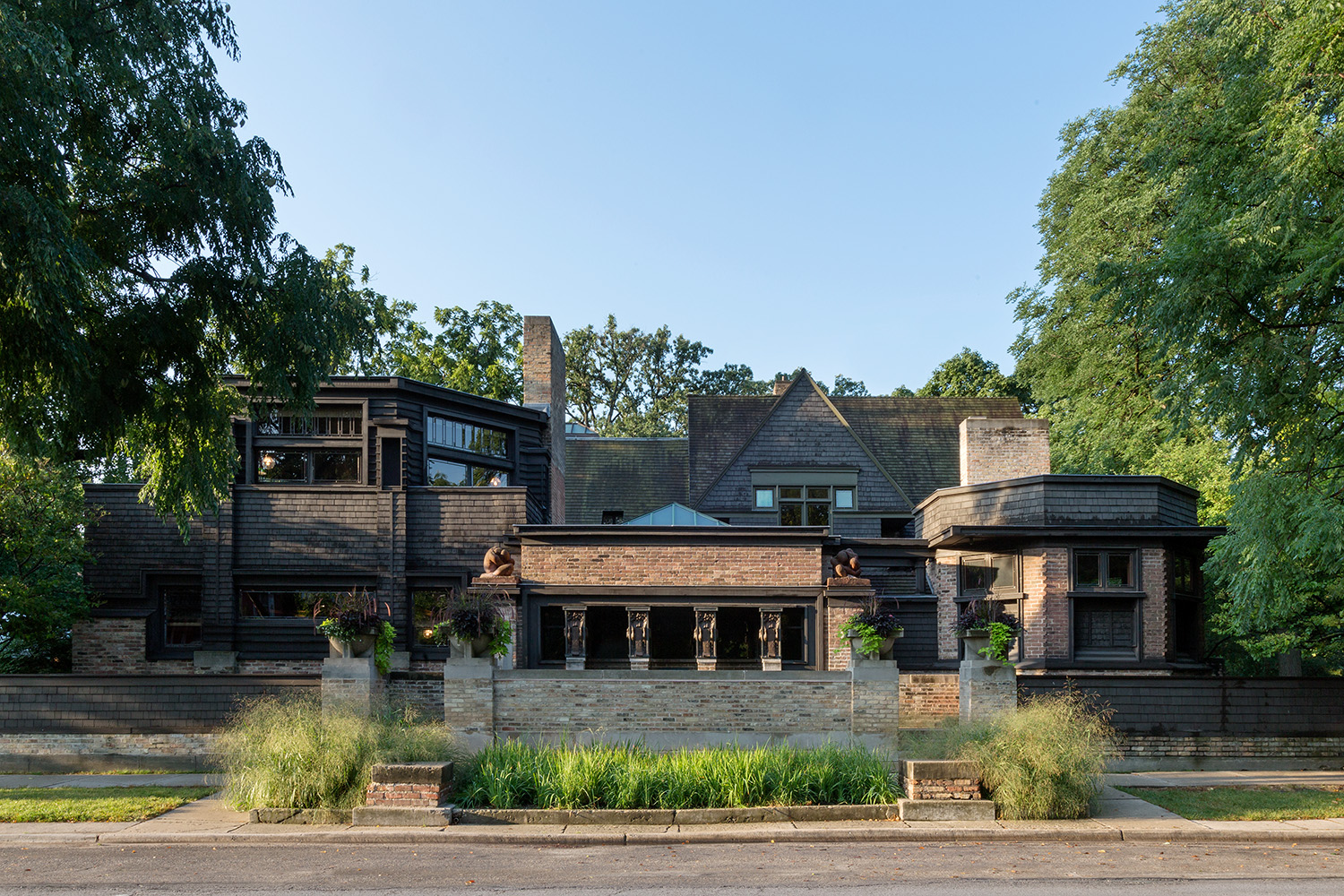 Studio / Oak Park IL / Frank Lloyd Wright / Restoration by John Vinci