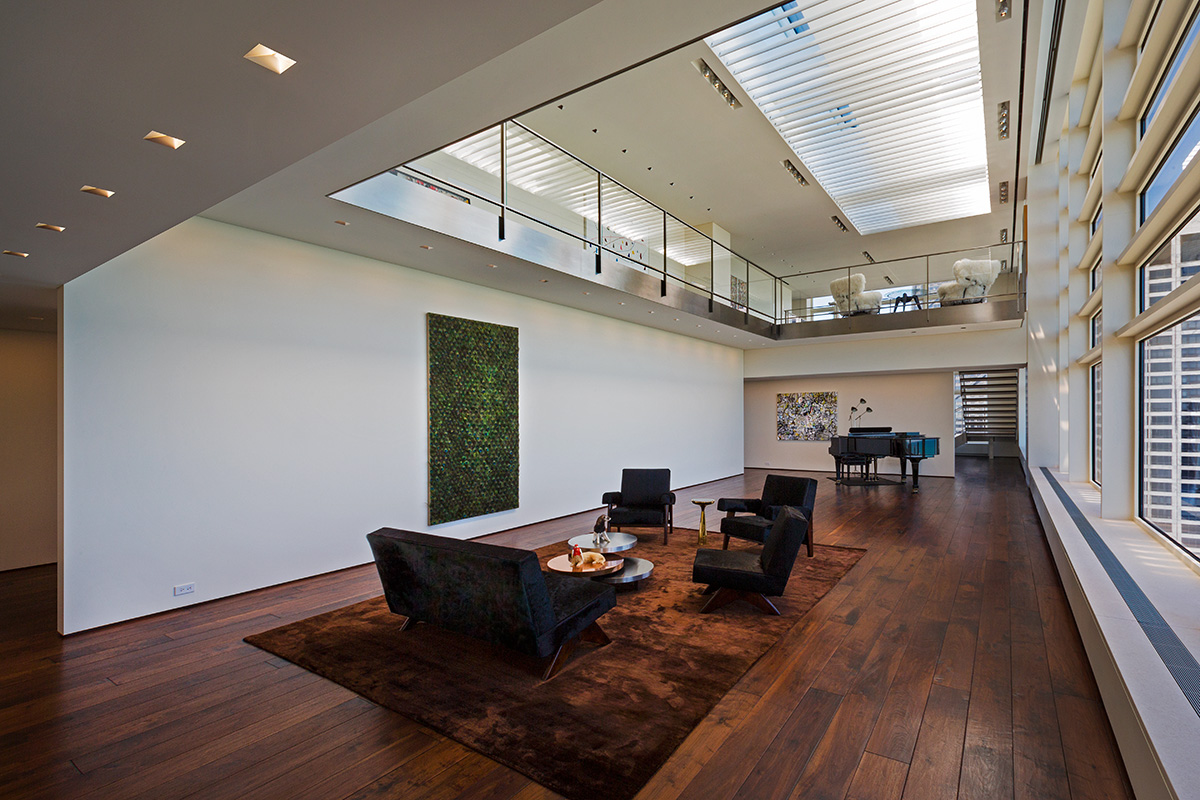 Chicago Penthouse / Vinci-Hamp Architects