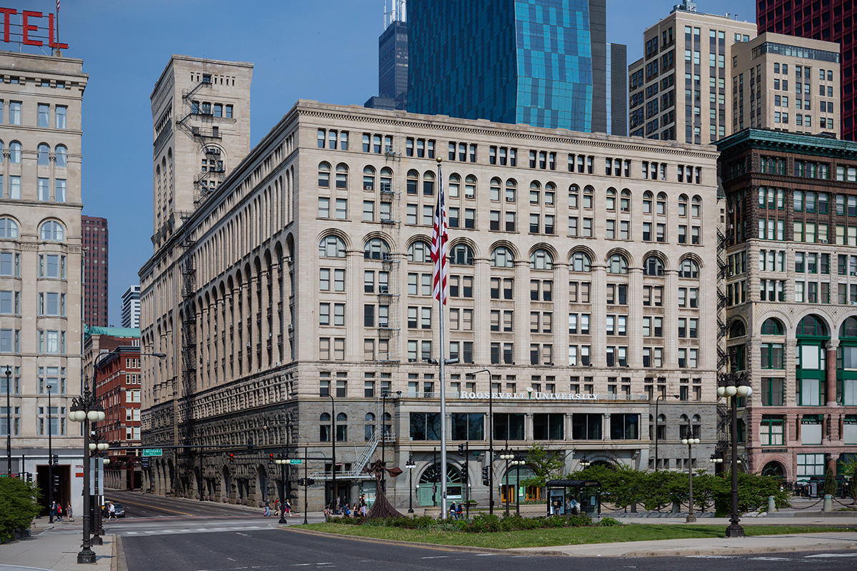 Auditorium Building / Chicago IL / Adler & Sullivan