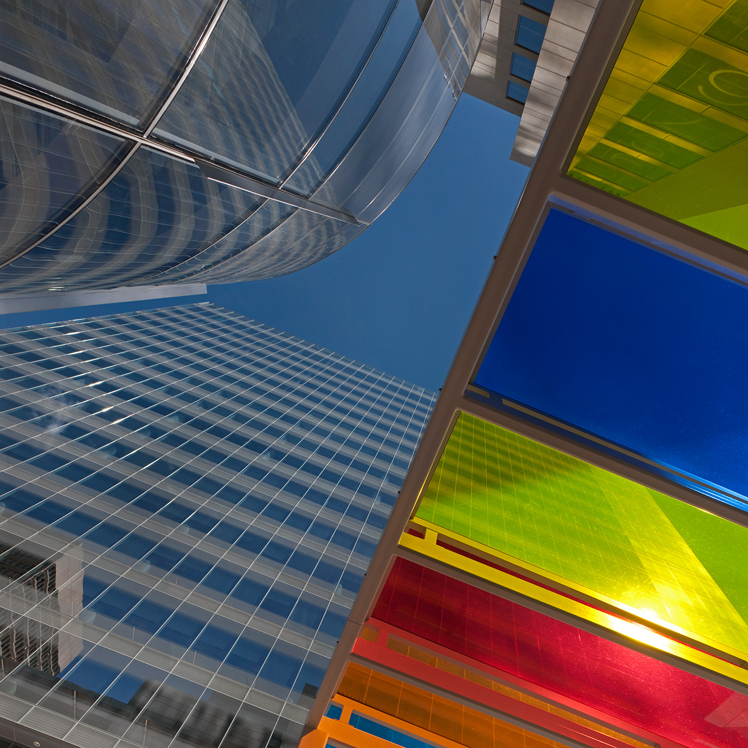 Centene Building / St. Louis MO / HOK/ Canopy by Liam Gillick