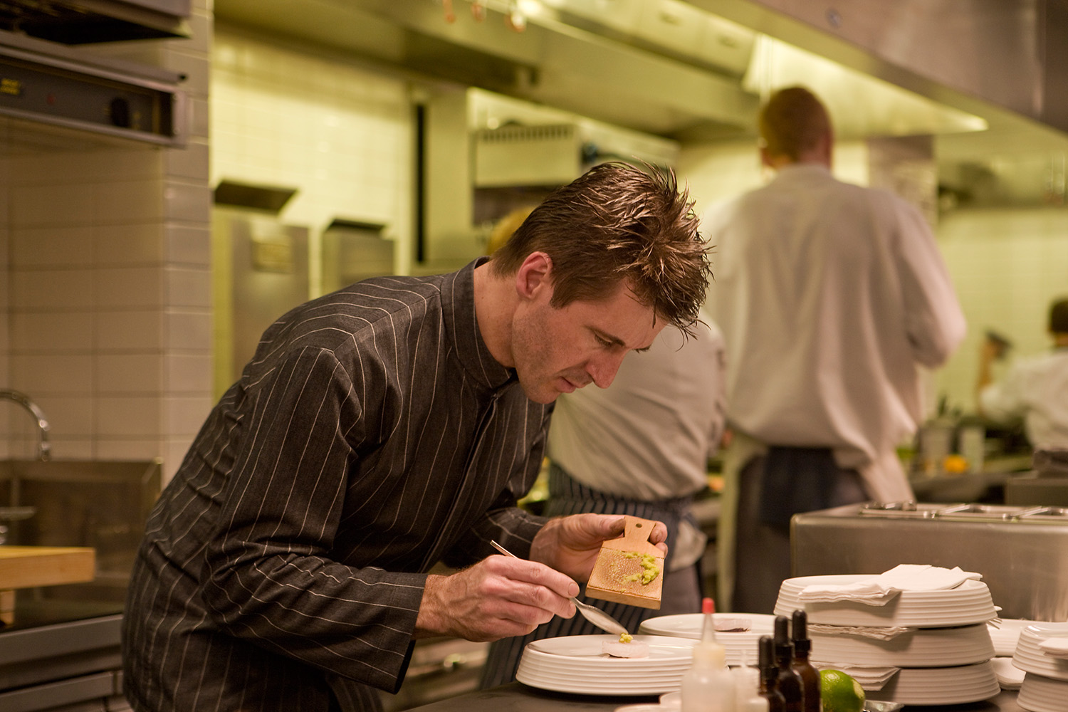 Laurent Gras / Chef / L20 / Chicago IL / For The New York Times