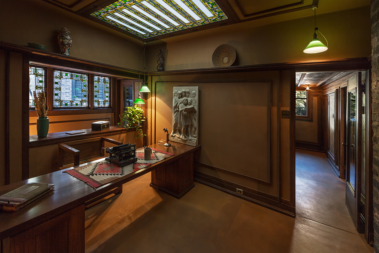 Studio / Oak Park IL / Frank Lloyd Wright / Restoration by John Vinci