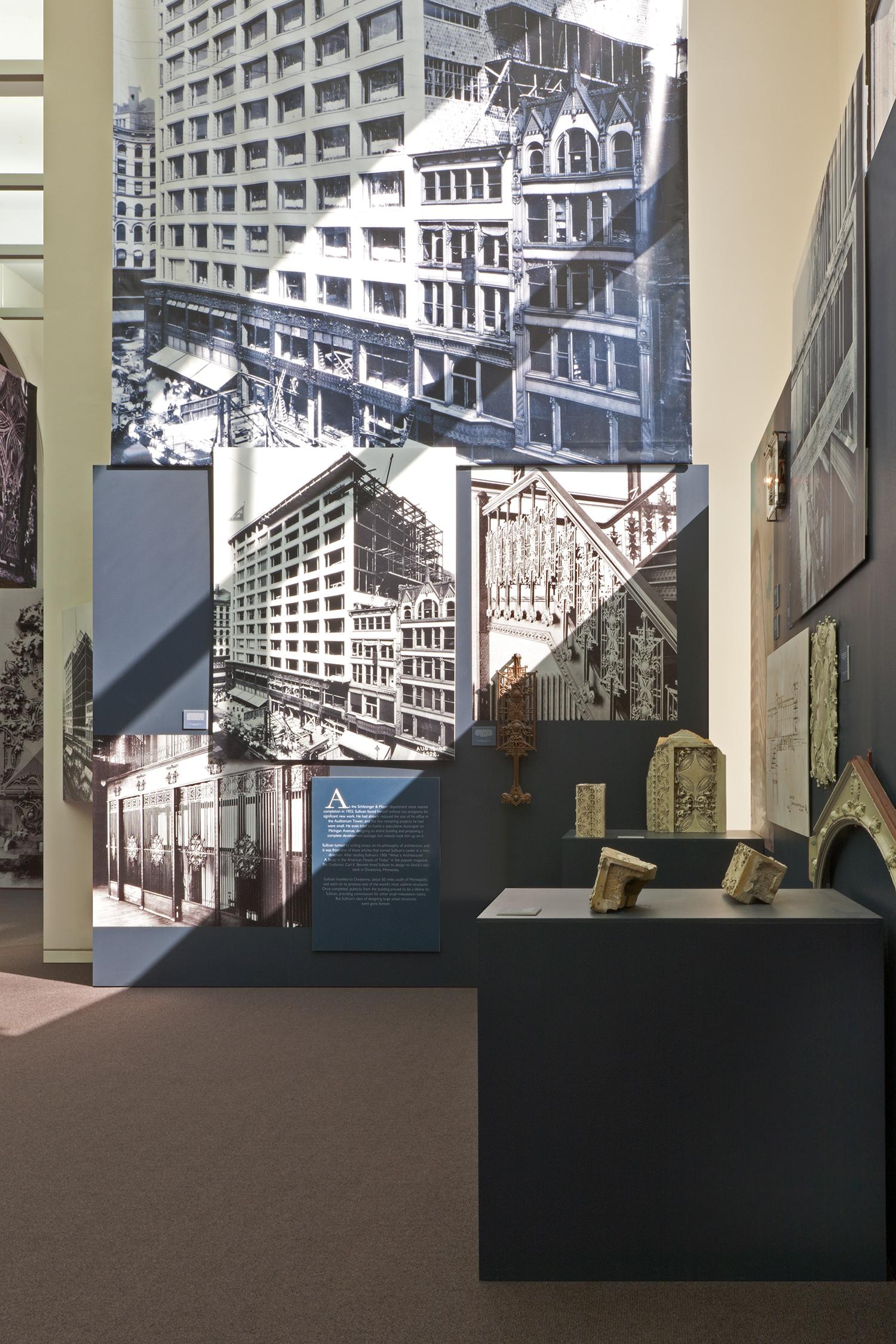Louis Sullivan's Idea / Chicago Cultural Center / Chicago IL / Curator: Tim Samuelson / 2010