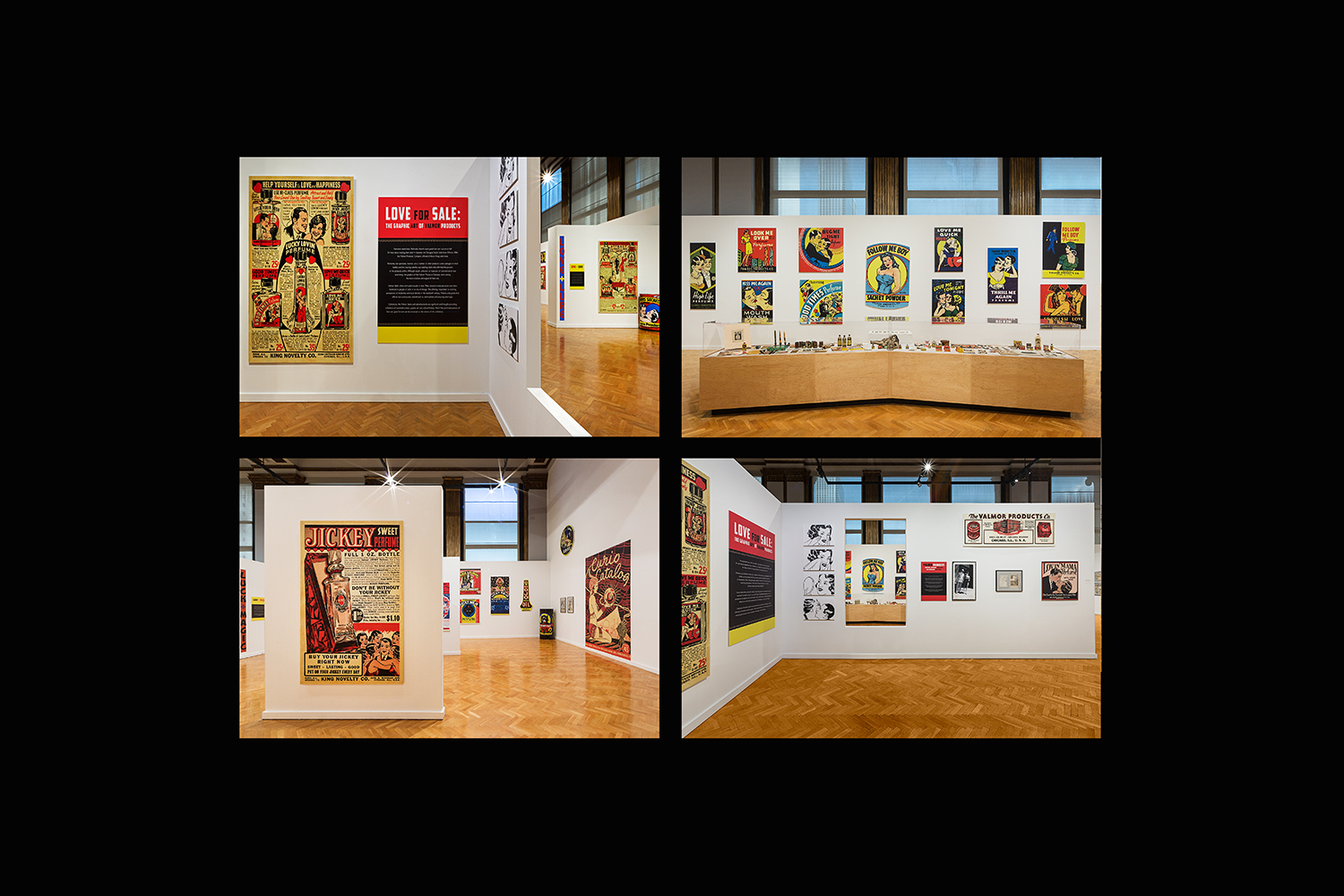 The Graphic Art of Valmor Products / Chicago Cultural Center / Chicago IL / Curator: Tim Samuelson / 2015