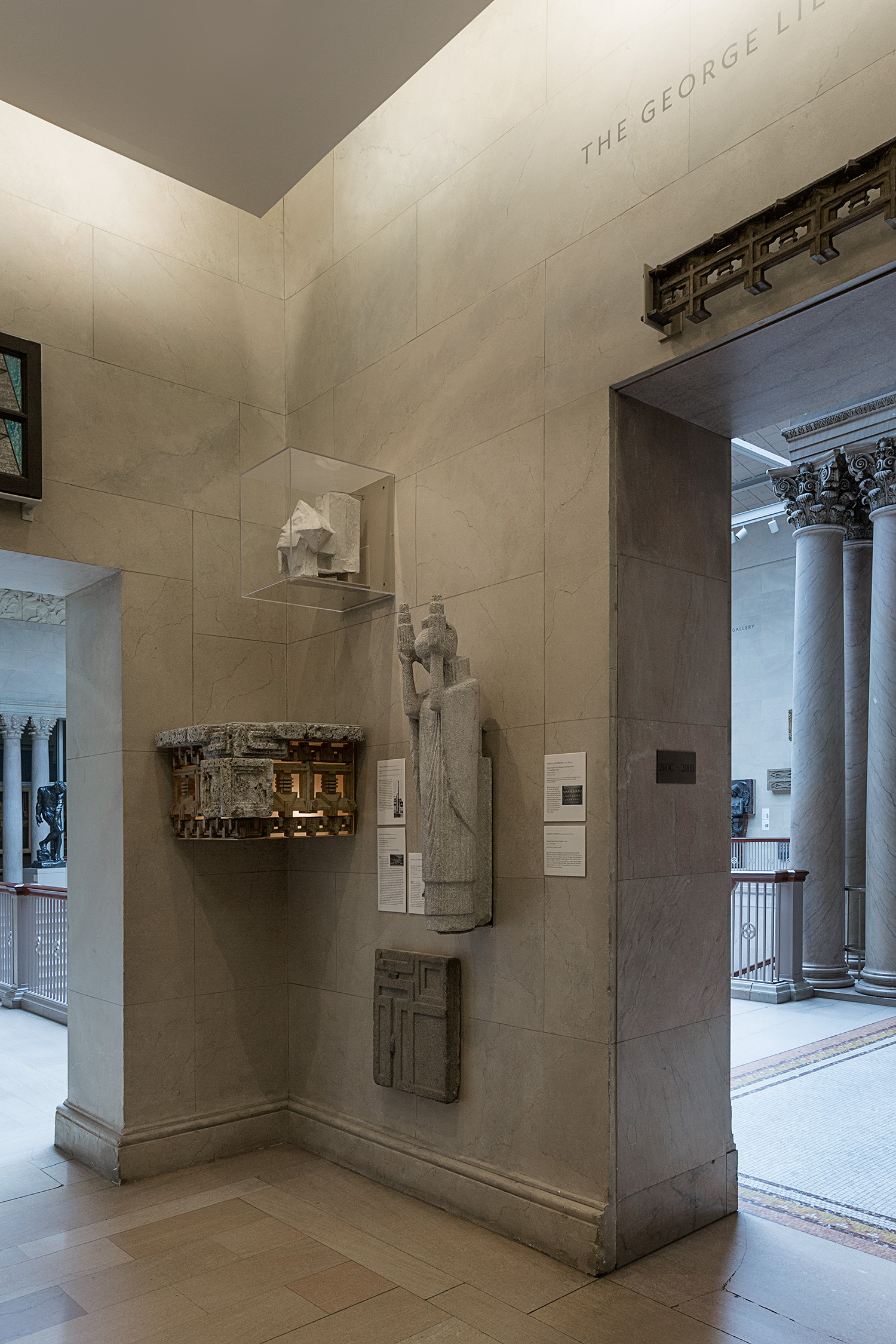 Art Institute of Chicago : Early Chicago Architectual Fragments