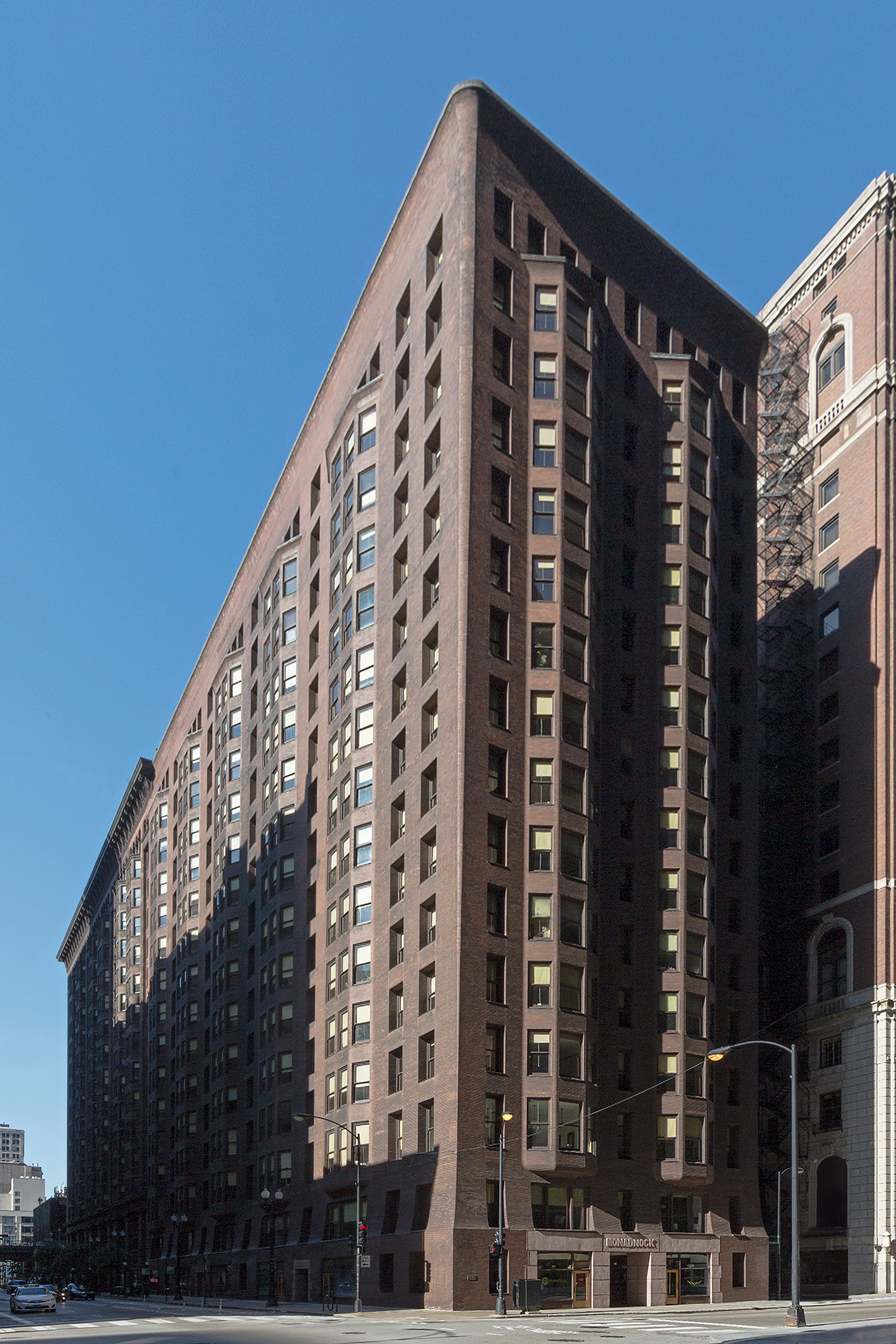 Monadnock Building / Burnham & Root / Chicago IL / Restoration by John Vinci
