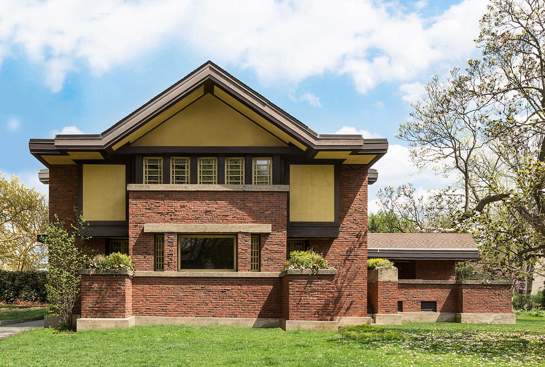 Beachy House / Frank Lloyd Wright / Oak Park IL / Restoration by John Vinci
