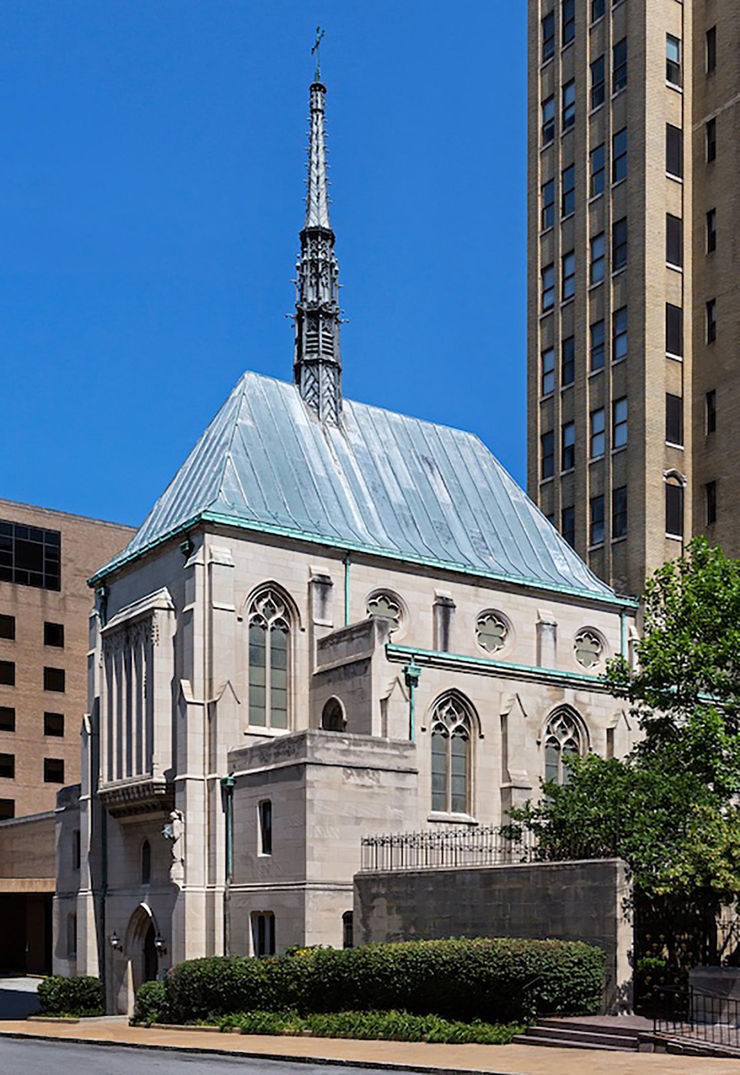 Desloge Chapel / Ralph Adams Cram / 1933