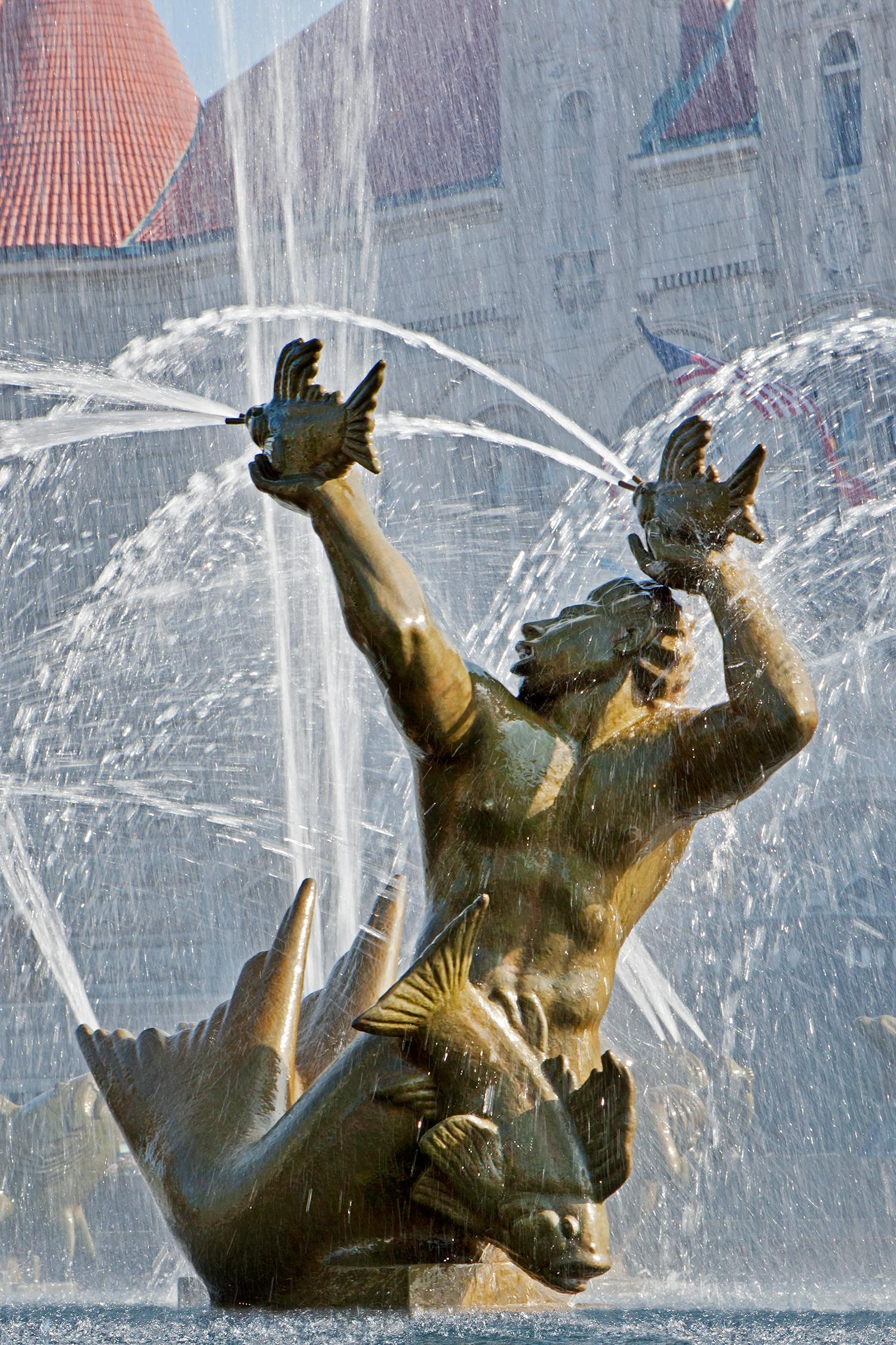 Milles Fountain / St. Louis MO / Carl Milles / 1939