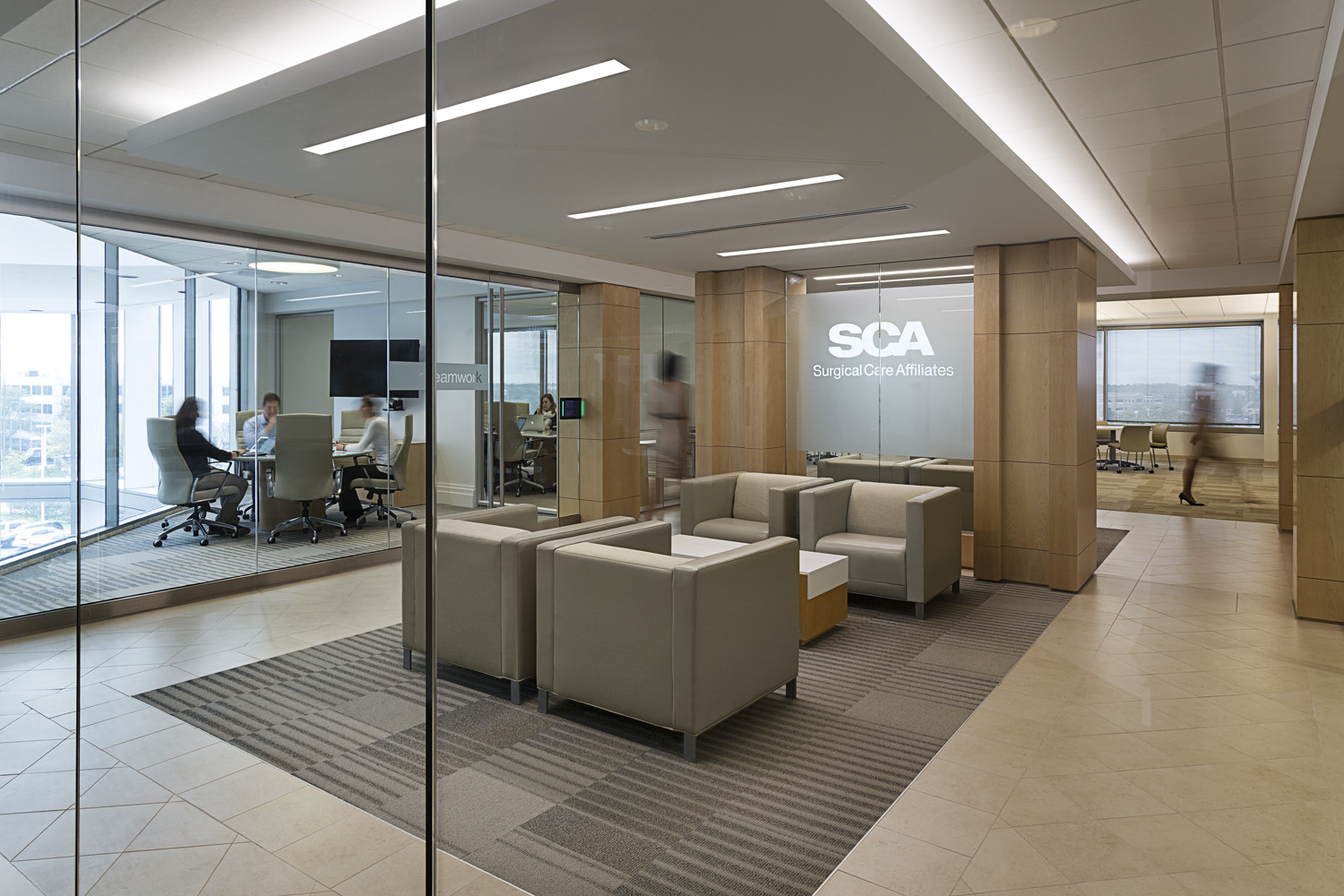 Surgical Care Affiliates / Deerfield IL / William Blackstock Architects