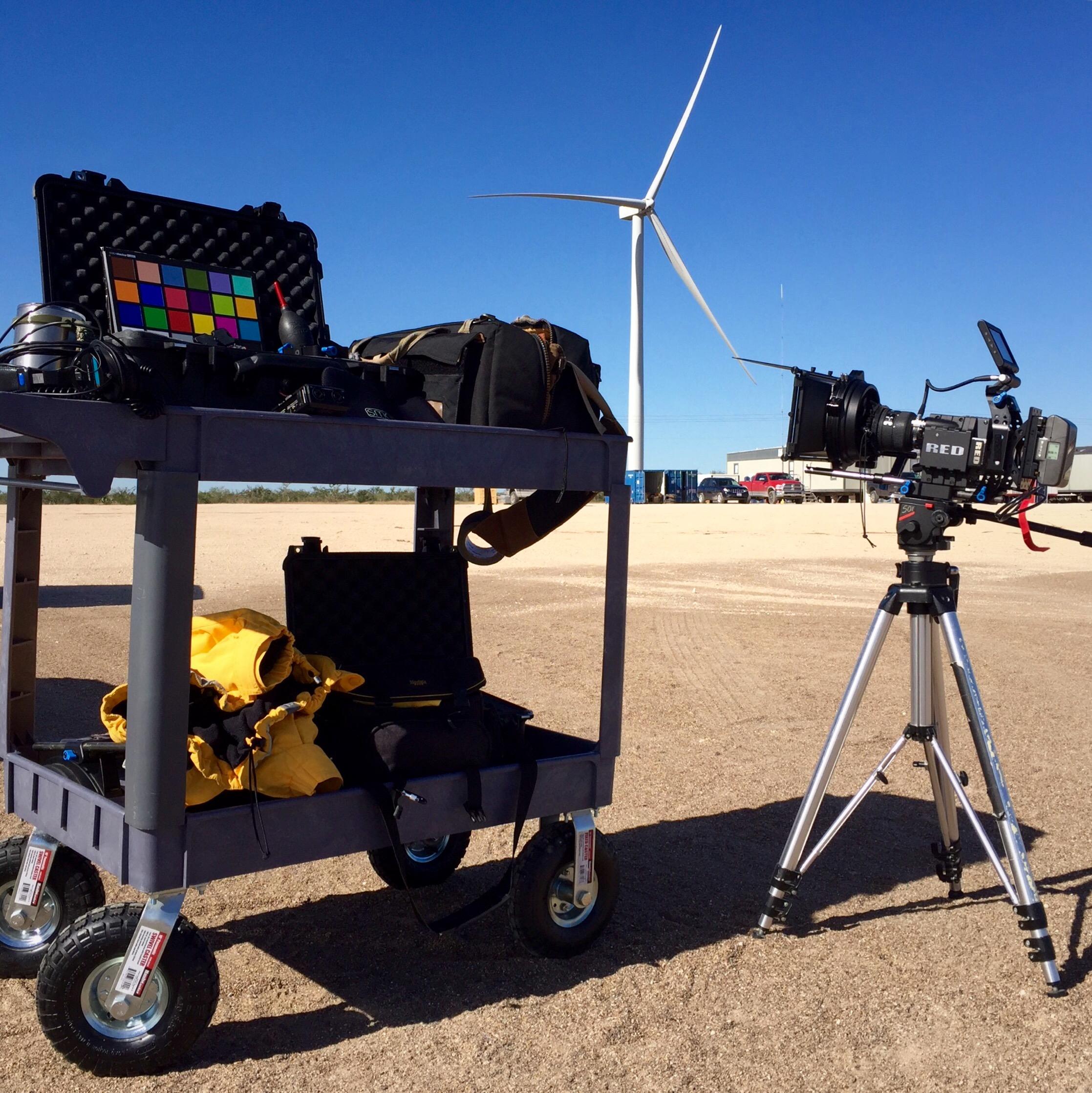 Sendero Wind Farm Gear BTS.jpg