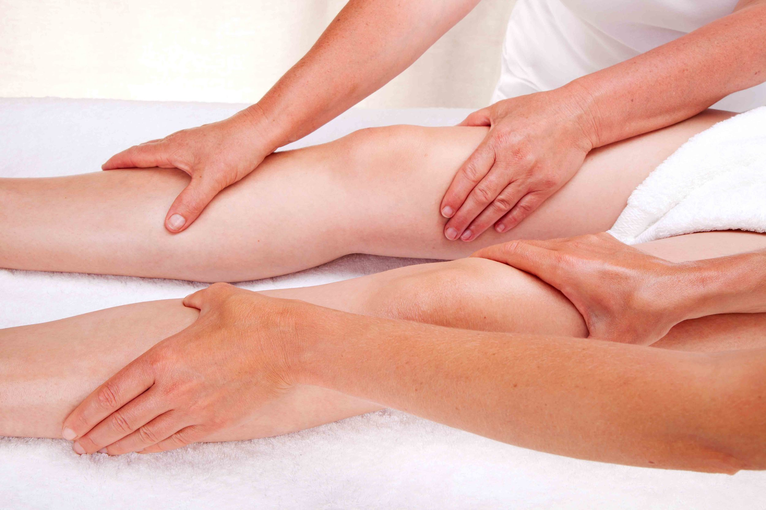Ayurvedic massage legs