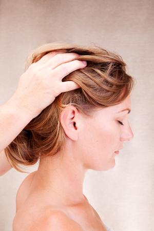 Indain Head massage