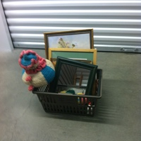 0107: Assorted Small Mirrors/Pictures/ Knitted Dolls