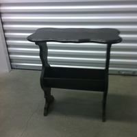 0115: Small Dark Wood Table