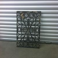 0135: Decorative Metal Grate