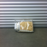 0143: Plastic Zip Bag of Blankets