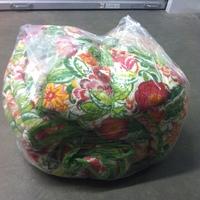 0150: Plastic Zip Bags with Flower Comforter
