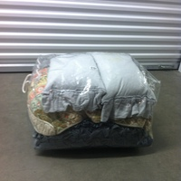 0151: Plastic Zip Bag with Assorted Pillows